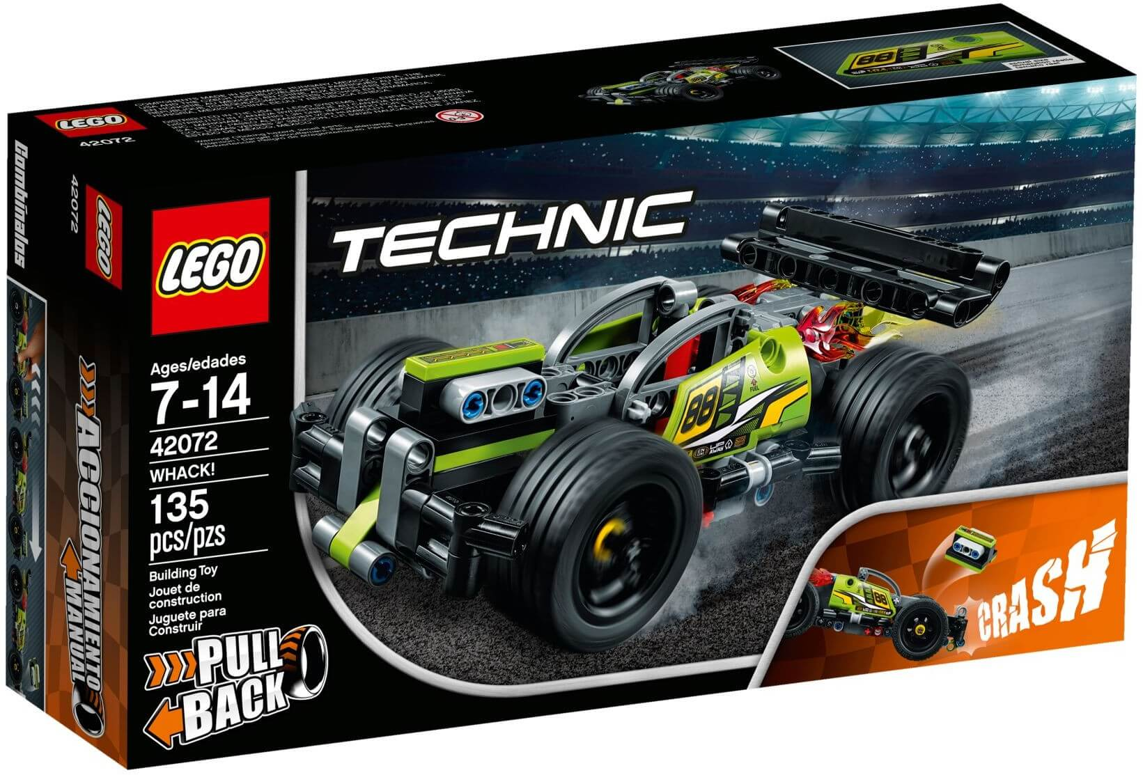 Mua đồ chơi LEGO 42072 - LEGO Technic 42072 - Siêu Xe WHACK! (LEGO Technic 42072 WHACK!)