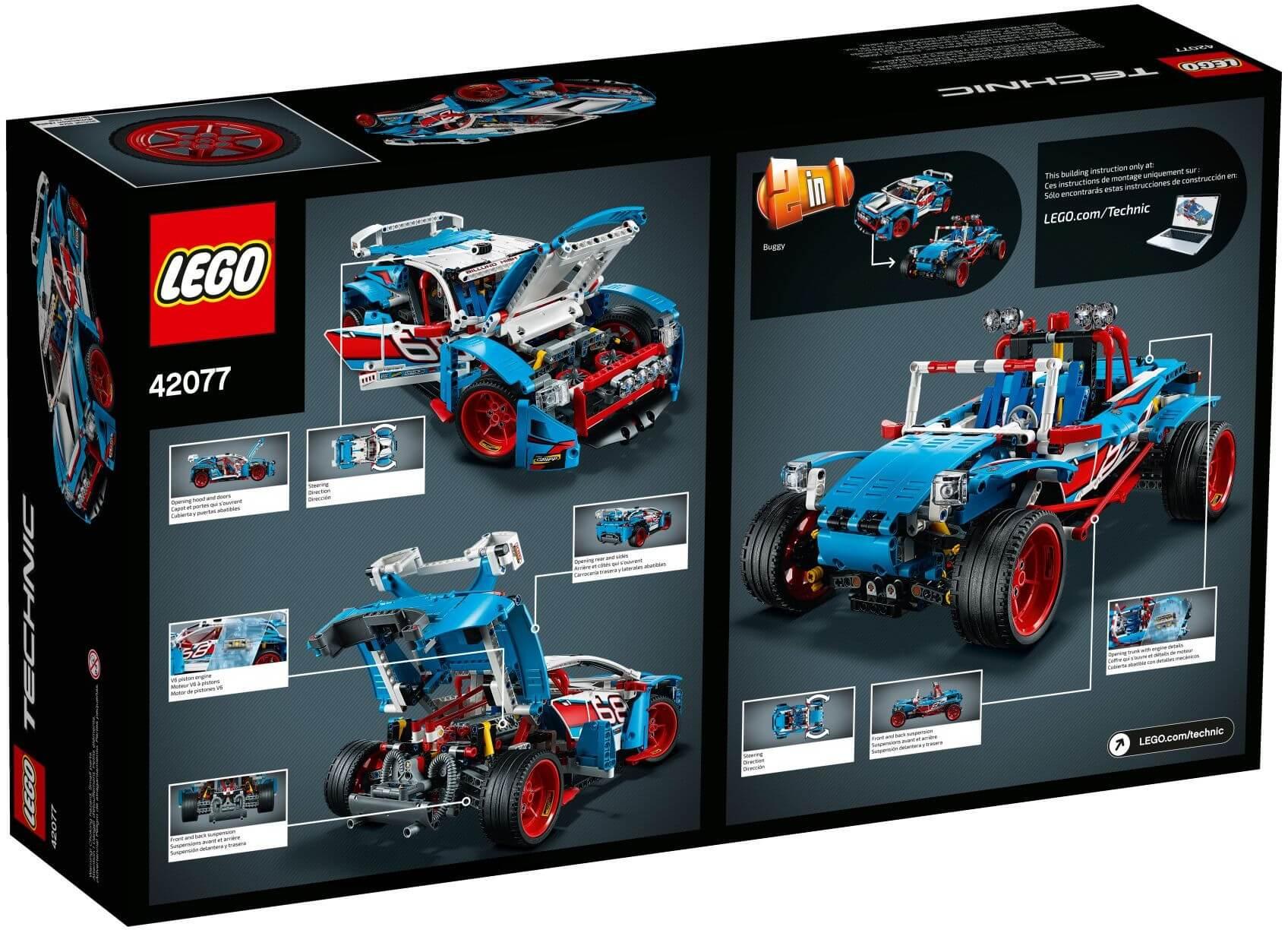 Mua đồ chơi LEGO 42077 - LEGO Technic 42077 - Xe Đua Địa Hình (LEGO Technic 42077 Rally Car)
