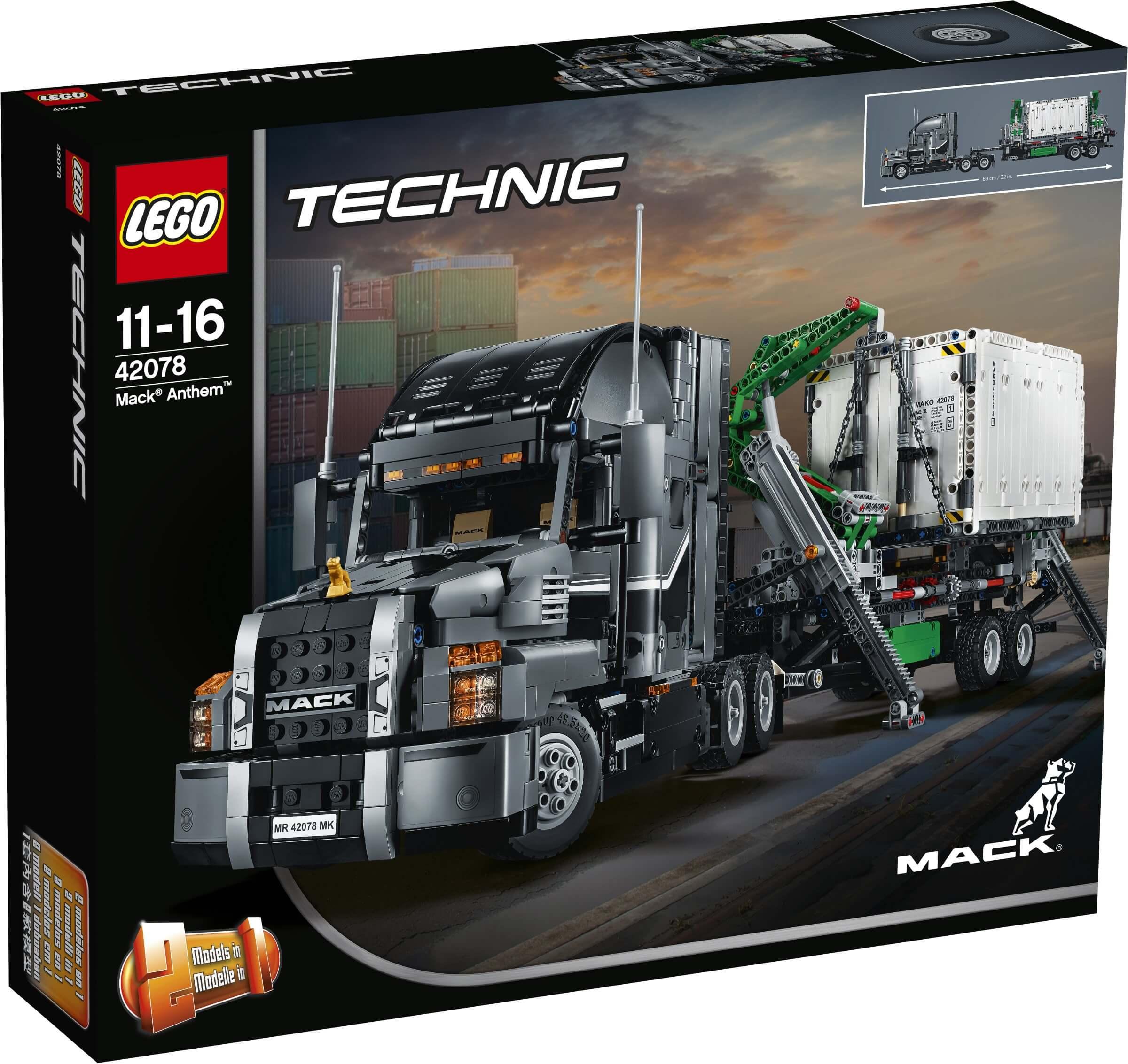 Mua đồ chơi LEGO 42078 - LEGO Technic 42078 - Xe Tải Cẩu Container Mack Anthem (LEGO Technic 42078 Mack Anthem)