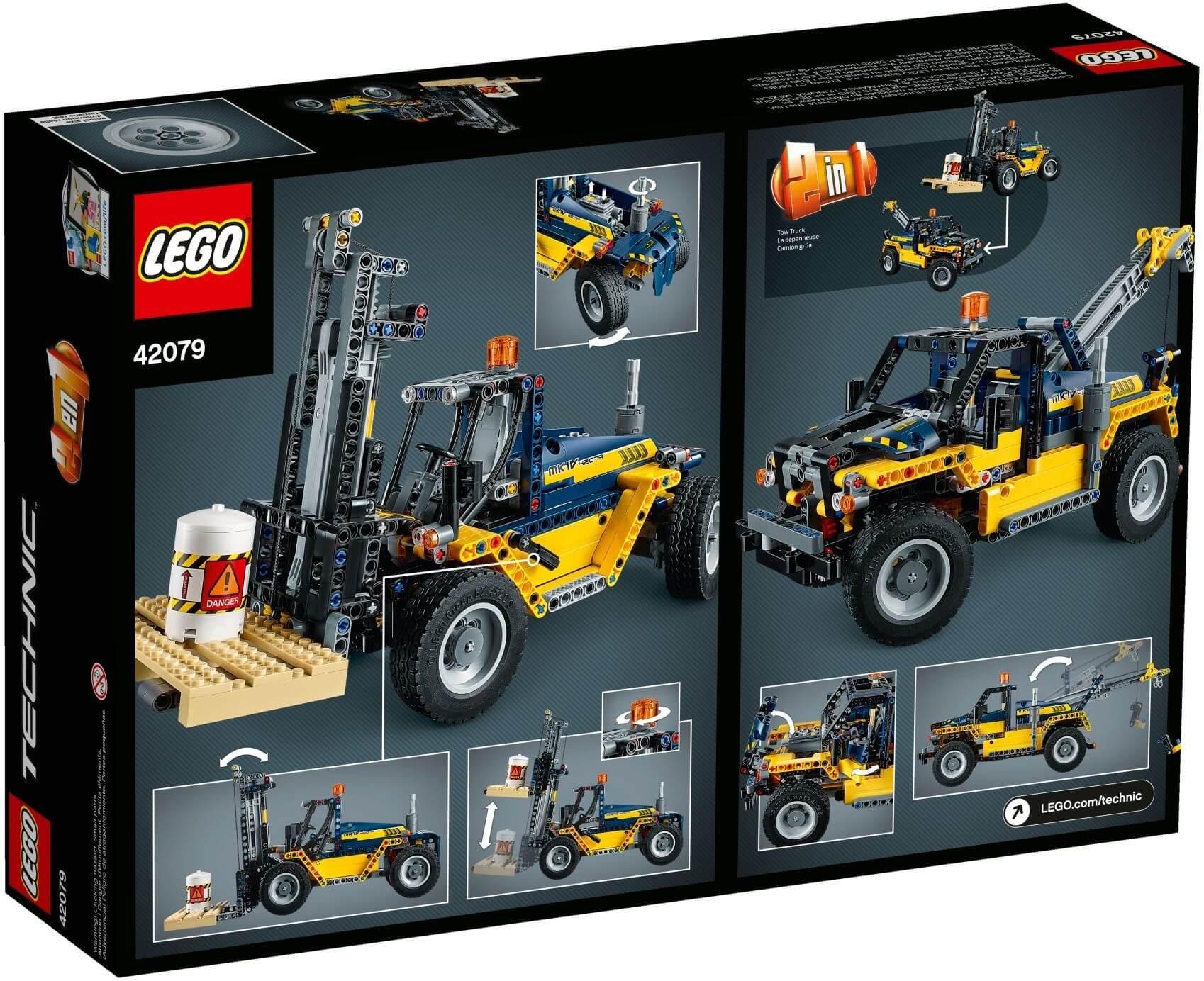 Mua đồ chơi LEGO 42079 - LEGO Technic 42079 - Xe Nâng hạng nặng (LEGO 42079 Heavy Duty Forklift)