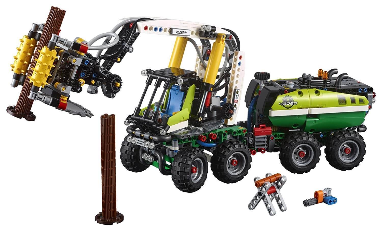 Mua đồ chơi LEGO 42080 - LEGO Technic 42080 - Xe cẩu Gỗ gắn Động Cơ (LEGO 42080 Forest Machine)