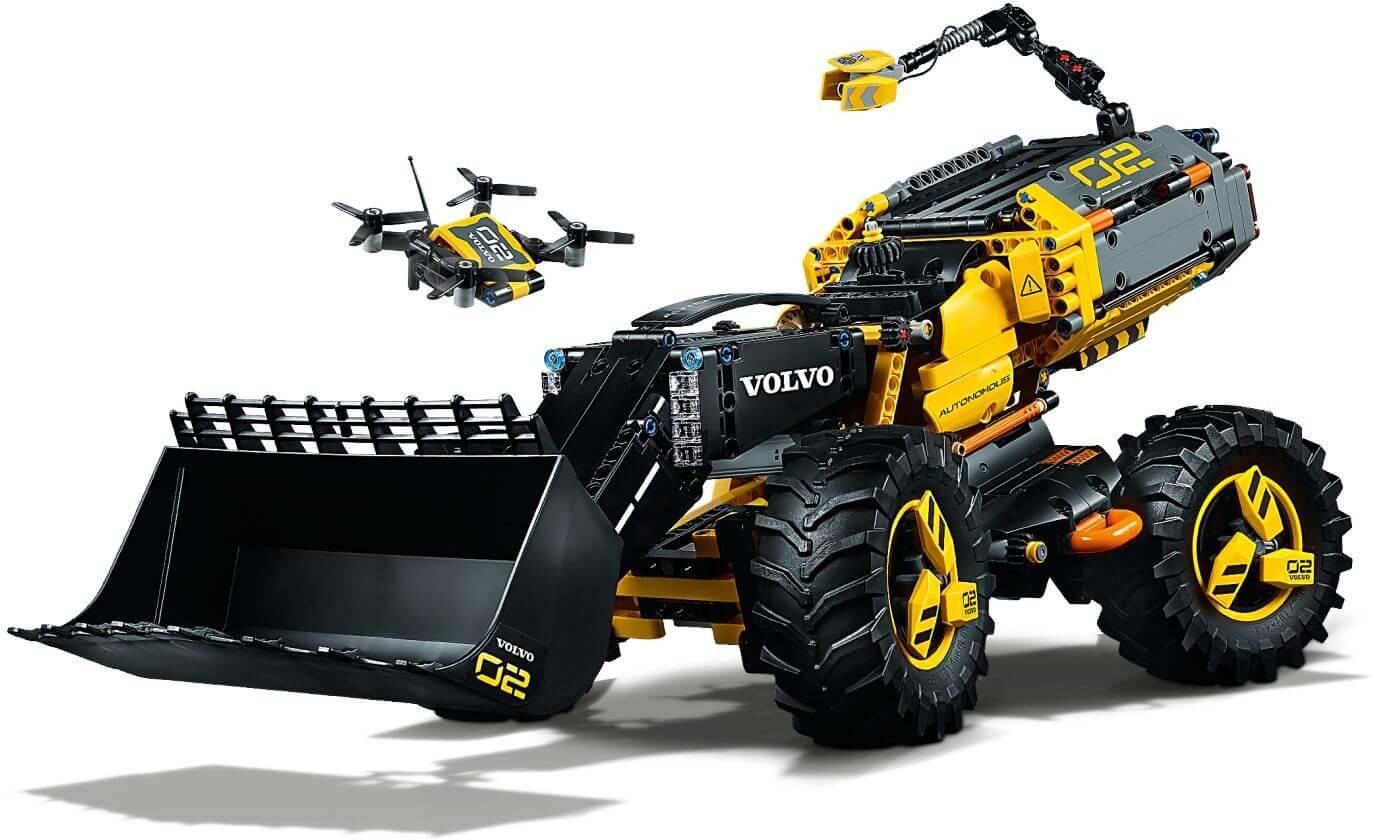 Mua đồ chơi LEGO 42081 - LEGO Technic 42081 - Xe Ủi hiện đại Volvo ZEUX (LEGO 42081 Volvo Concept Wheel Loader ZEUX)