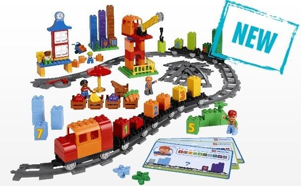 Mua đồ chơi LEGO 45008 - LEGO DUPLO 45008 - Bộ Xe Lửa học Toán Khổng Lồ (LEGO Education DUPLO Math Train 45008)