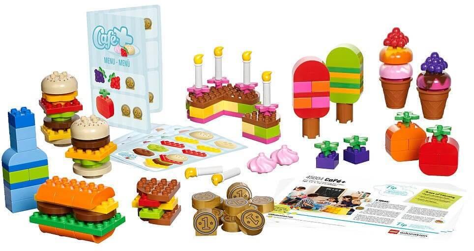 Mua đồ chơi LEGO 45013 - LEGO DUPLO 45013 - Bộ Xếp Hình Cửa Hàng Thức Ăn (LEGO Education DUPLO Cafe + Set 45013)