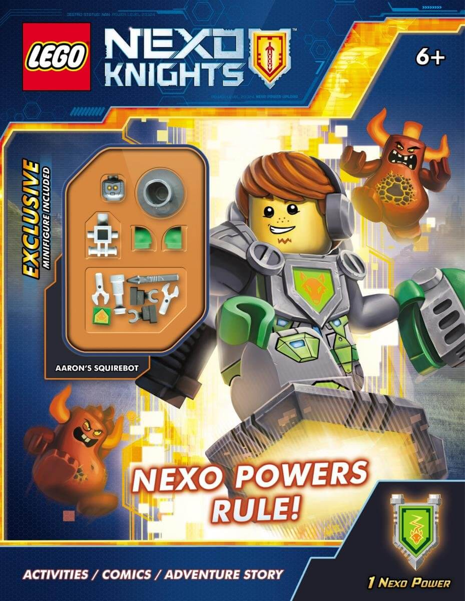 Mua đồ chơi LEGO 5000009 - Sách LEGO NEXO Powers Rule! (tặng kèm Minifigure) (Mã: 5000009)