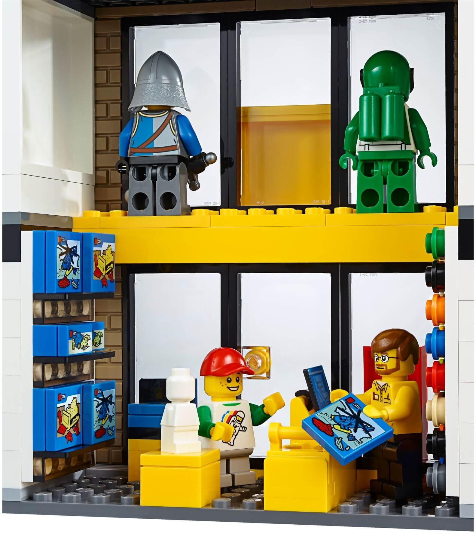 Mua đồ chơi LEGO 60097 - LEGO City 60097 - Quảng trường Thành phố (LEGO City The City Square 60097)