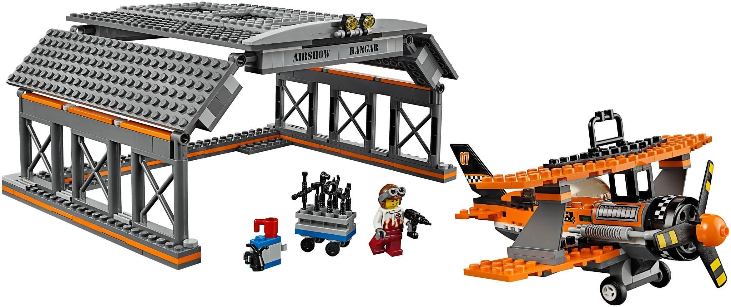 Mua đồ chơi LEGO 60103 - LEGO City 60103 - Sân Bay của Đội Bay Biểu Diễn (LEGO City Airport Air Show 60103)