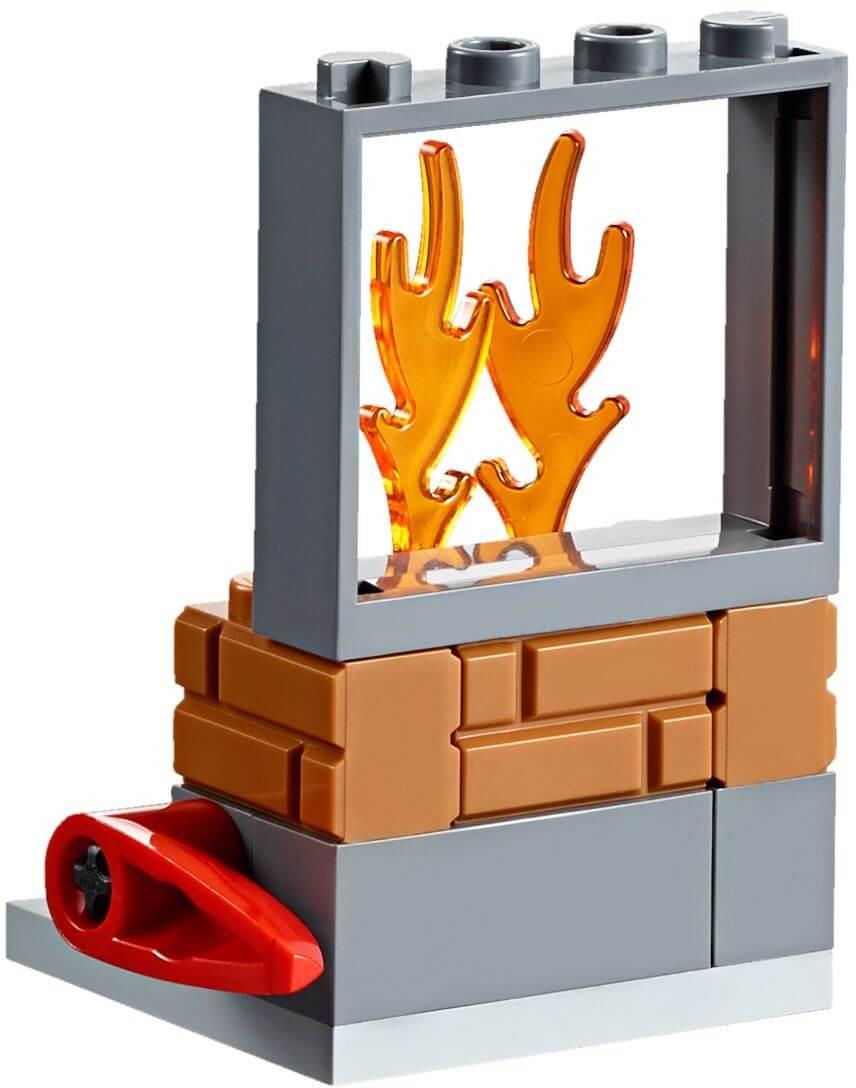 Mua đồ chơi LEGO 60105 - LEGO City 60105 - Xe Cứu Hỏa Vượt Địa Hình 4 Bánh (LEGO City Fire ATV 60105)