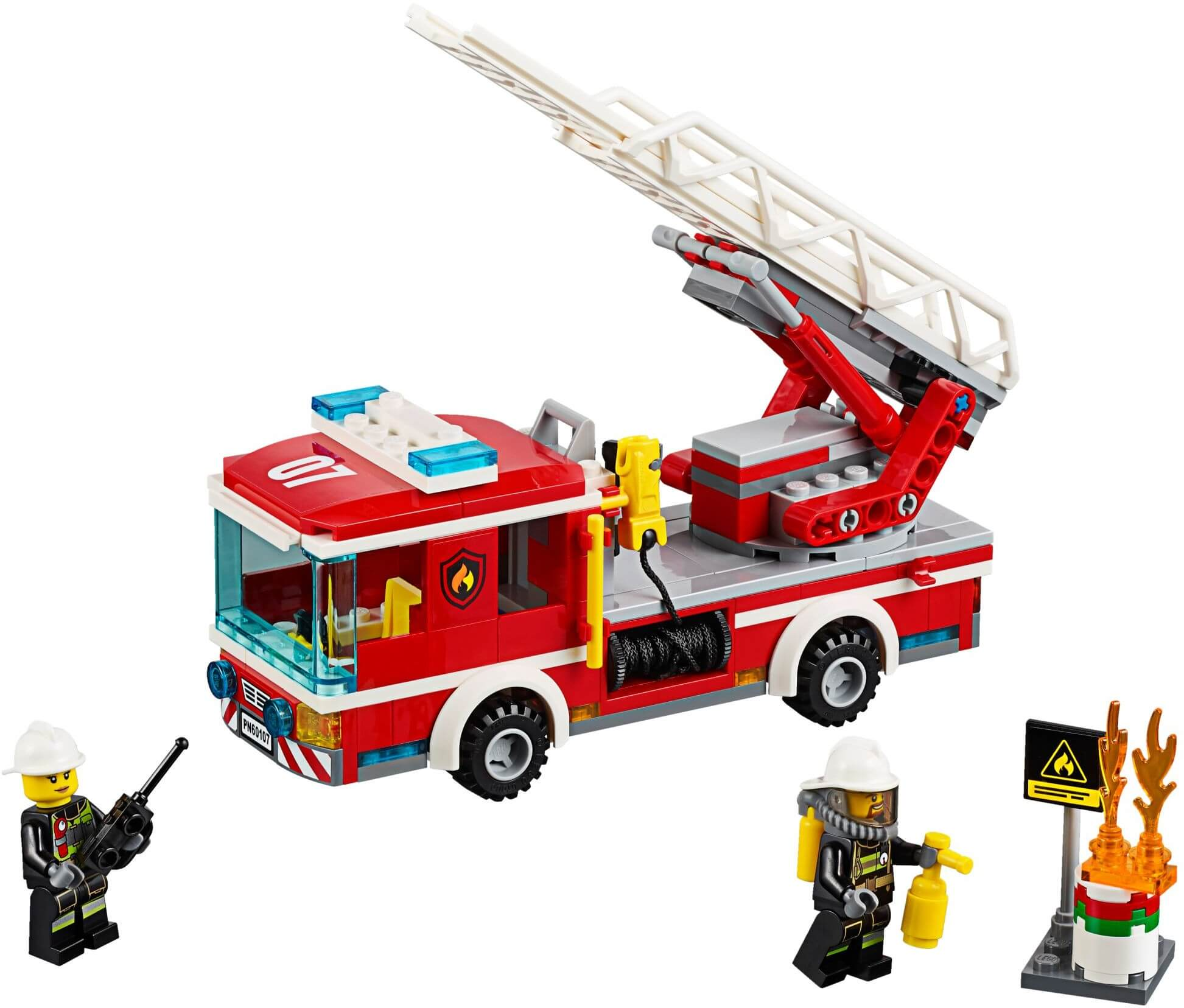 Mua đồ chơi LEGO 60107 - LEGO City 60107 - Xe Tải Cứu Hỏa (LEGO City Fire Ladder Truck 60107)