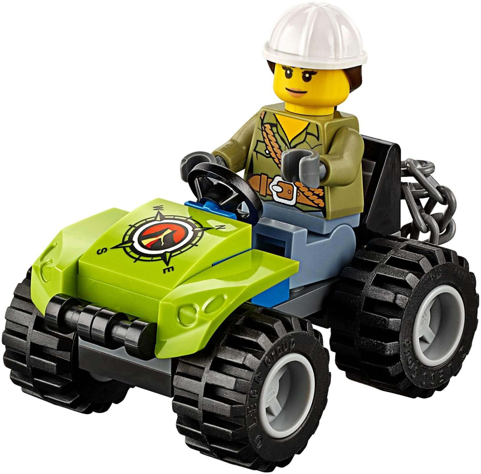 Mua đồ chơi LEGO 60122 - LEGO City 60122 - Xe Địa Hình thám hiểm Núi Lửa (LEGO City Volcano Crawler 60122)