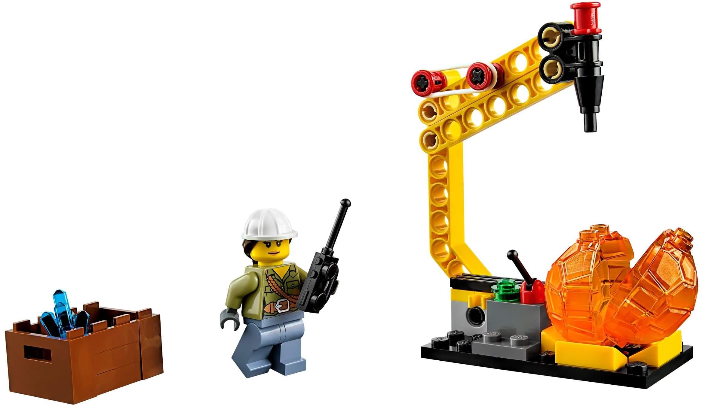 Mua đồ chơi LEGO 60123 - LEGO City 60123 - Trực Thăng Khai Thác Núi Lửa (LEGO City Volcano Supply Helicopter 60123)