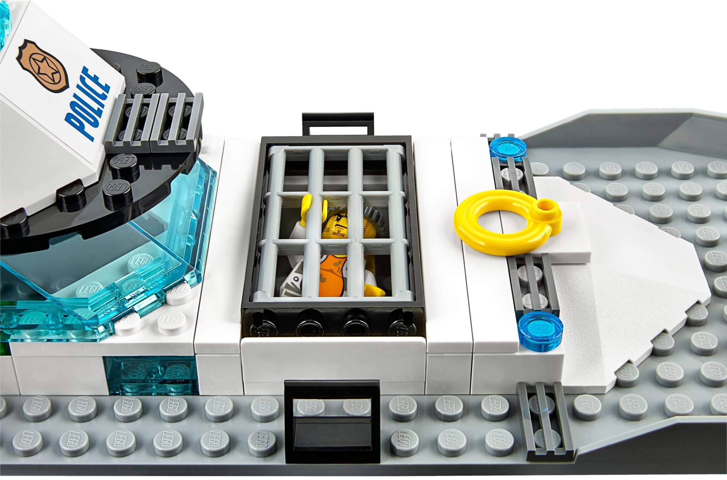 Mua đồ chơi LEGO 60129 - LEGO City 60129 - Tàu Cảnh Sát Tuần Tra (LEGO City Police Patrol Boat 60129)
