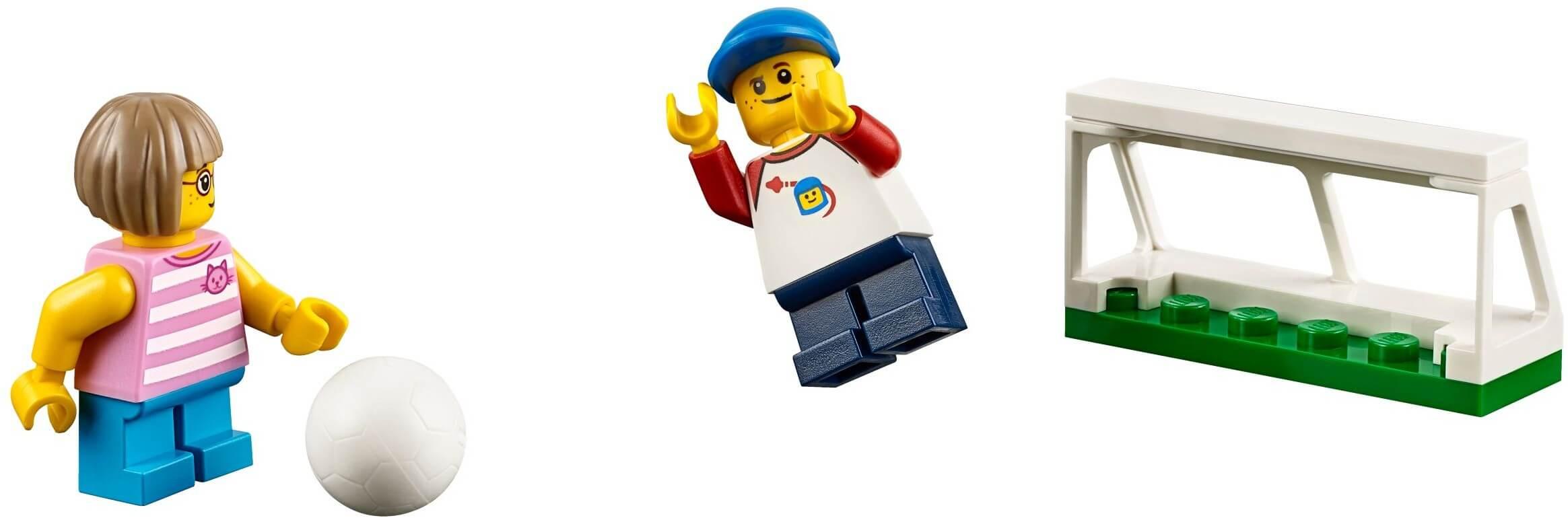 Mua đồ chơi LEGO 60134 - LEGO City 60134 - Công Viên Giải Trí - 15 nhân vật minifigure! (LEGO City Fun in the Park - City People Pack 60134)