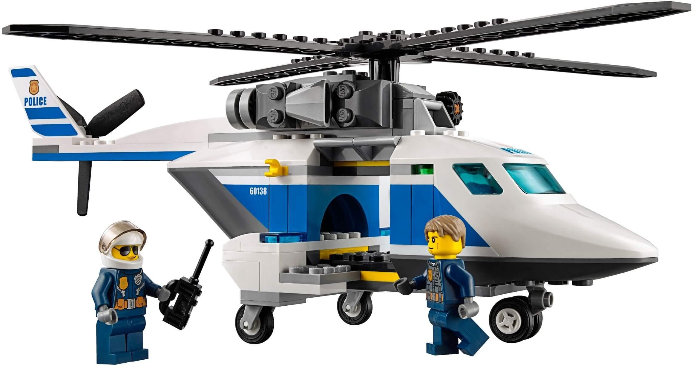 Mua đồ chơi LEGO 60138 - LEGO City 60138 - Đội Máy Bay và Xe Cảnh Sát (LEGO 60138 High-speed Chase)