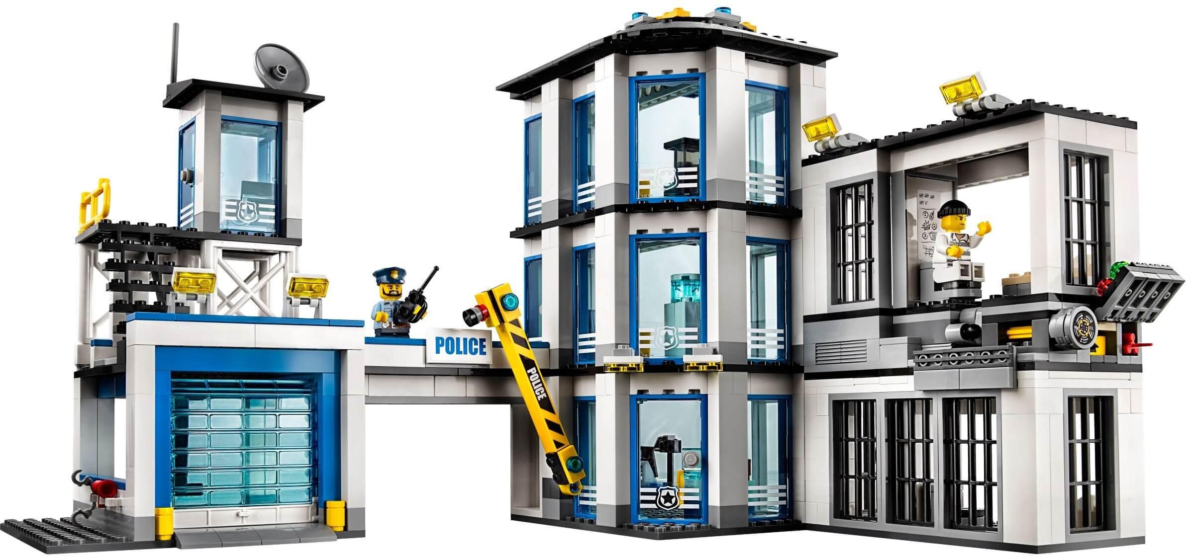 Mua đồ chơi LEGO 60141 - LEGO City 60141 - Trụ Sở Cảnh Sát (LEGO 60141 Police Station)