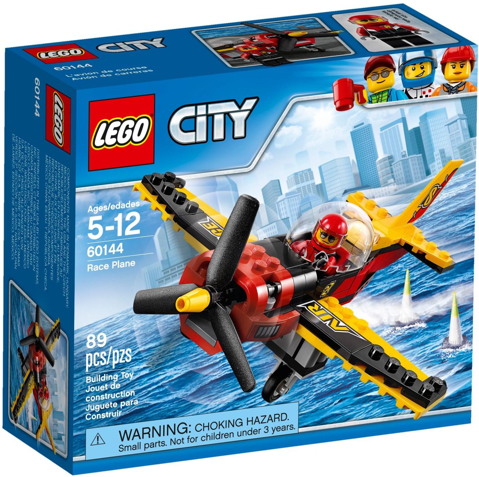 Mua đồ chơi LEGO 60144 - LEGO City 60144 - Cuộc Đua Máy Bay Cánh Quạt (LEGO City Race Plane 60144)