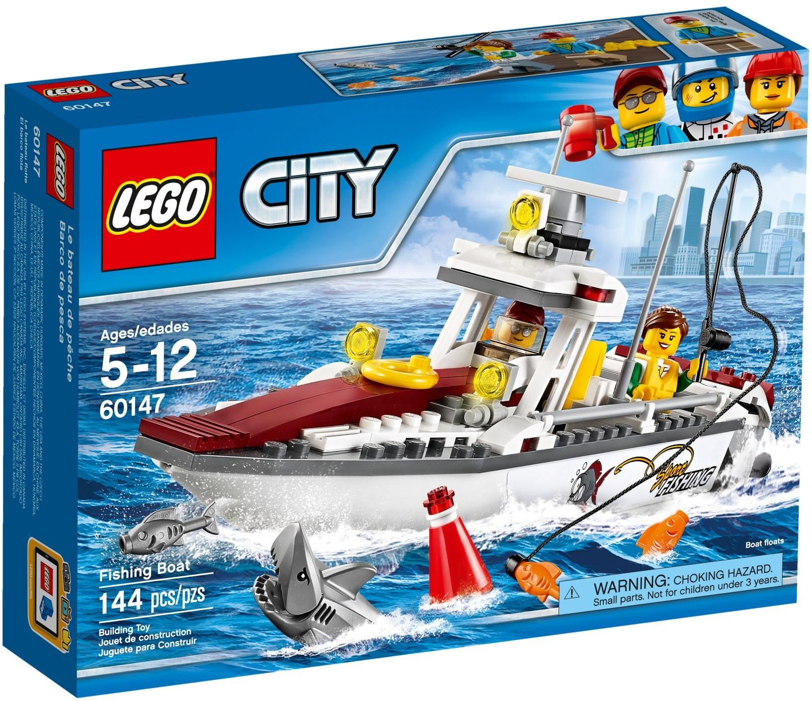 Mua đồ chơi LEGO 60147 - LEGO City 60147 - Tàu Đánh Cá (LEGO City Fishing Boat 60147)