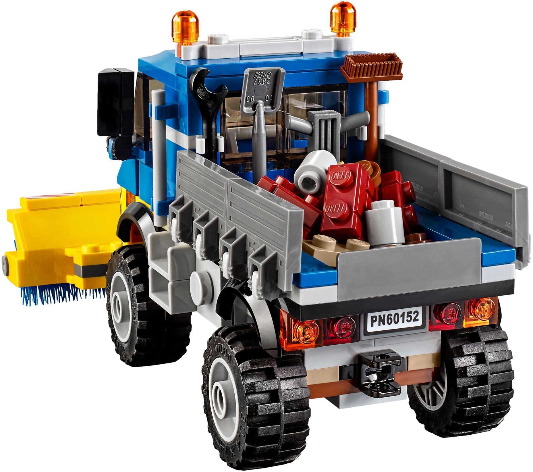 Mua đồ chơi LEGO 60152 - LEGO City 60152 - Xe Tải Quét Đường & Xe Xúc Đất (LEGO City Sweeper & Excavator 60152)