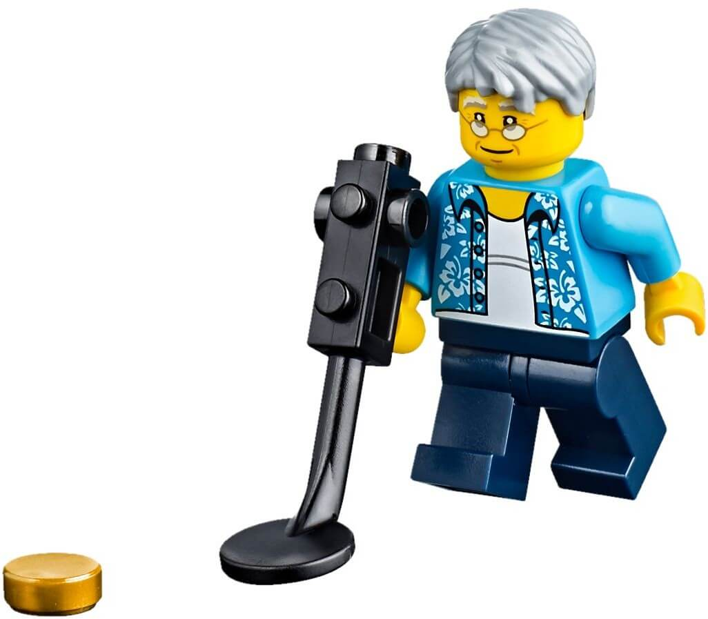 Mua đồ chơi LEGO 60153 - LEGO City 60153 - Bãi Biển Vui Nhộn - 15 Nhân Vật Minifigure! (LEGO City People Pack - Fun at the beach)