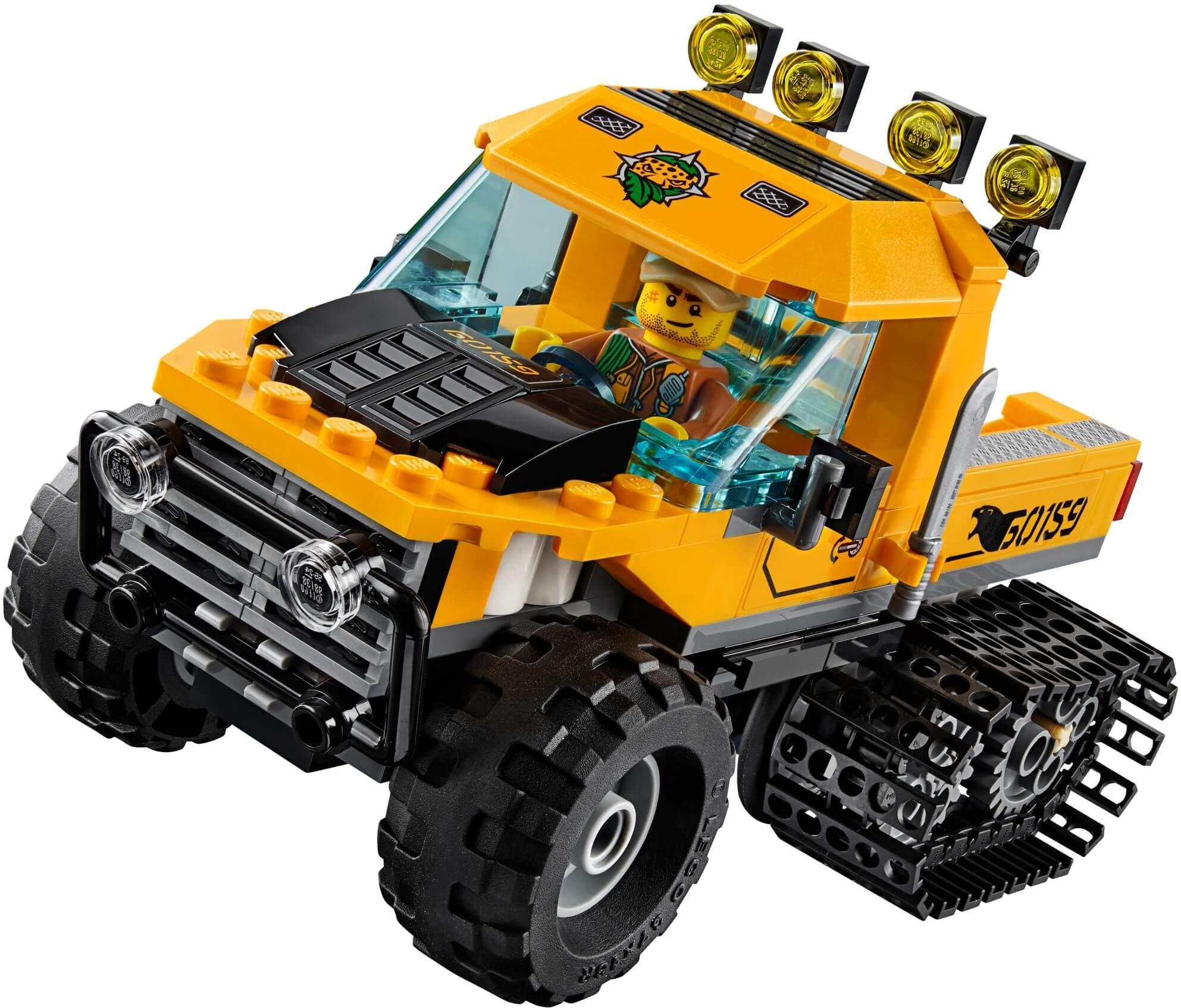 Mua đồ chơi LEGO 60159 - LEGO City 60159 - Xe Tải Bánh Xích vượt Rừng (LEGO City Jungle Explorers Jungle Halftrack Mission)