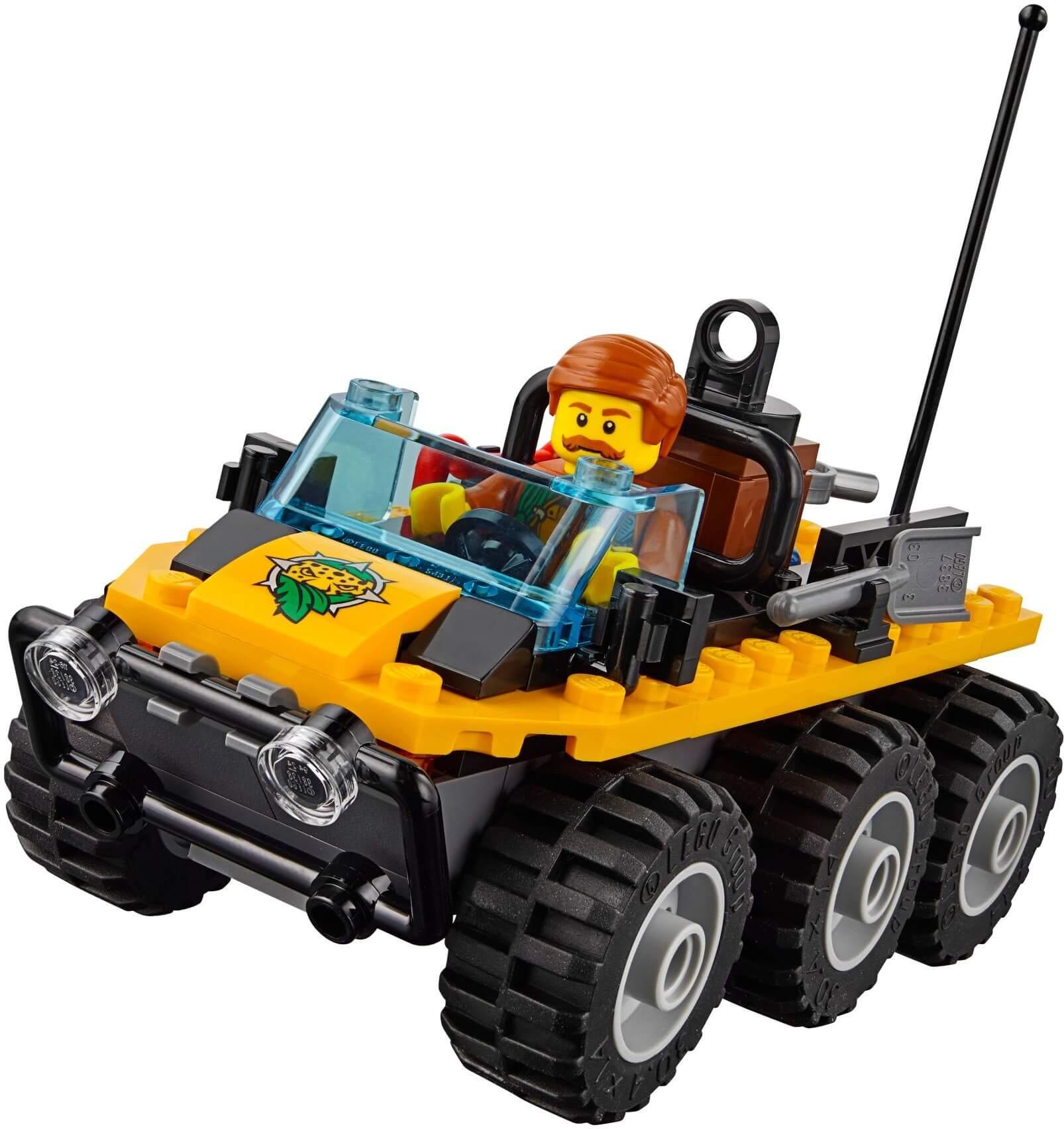 Mua đồ chơi LEGO 60161 - LEGO City 60161 - Biệt Đội Thám Hiểm Rừng (LEGO City Jungle Explorers Jungle Exploration Site)