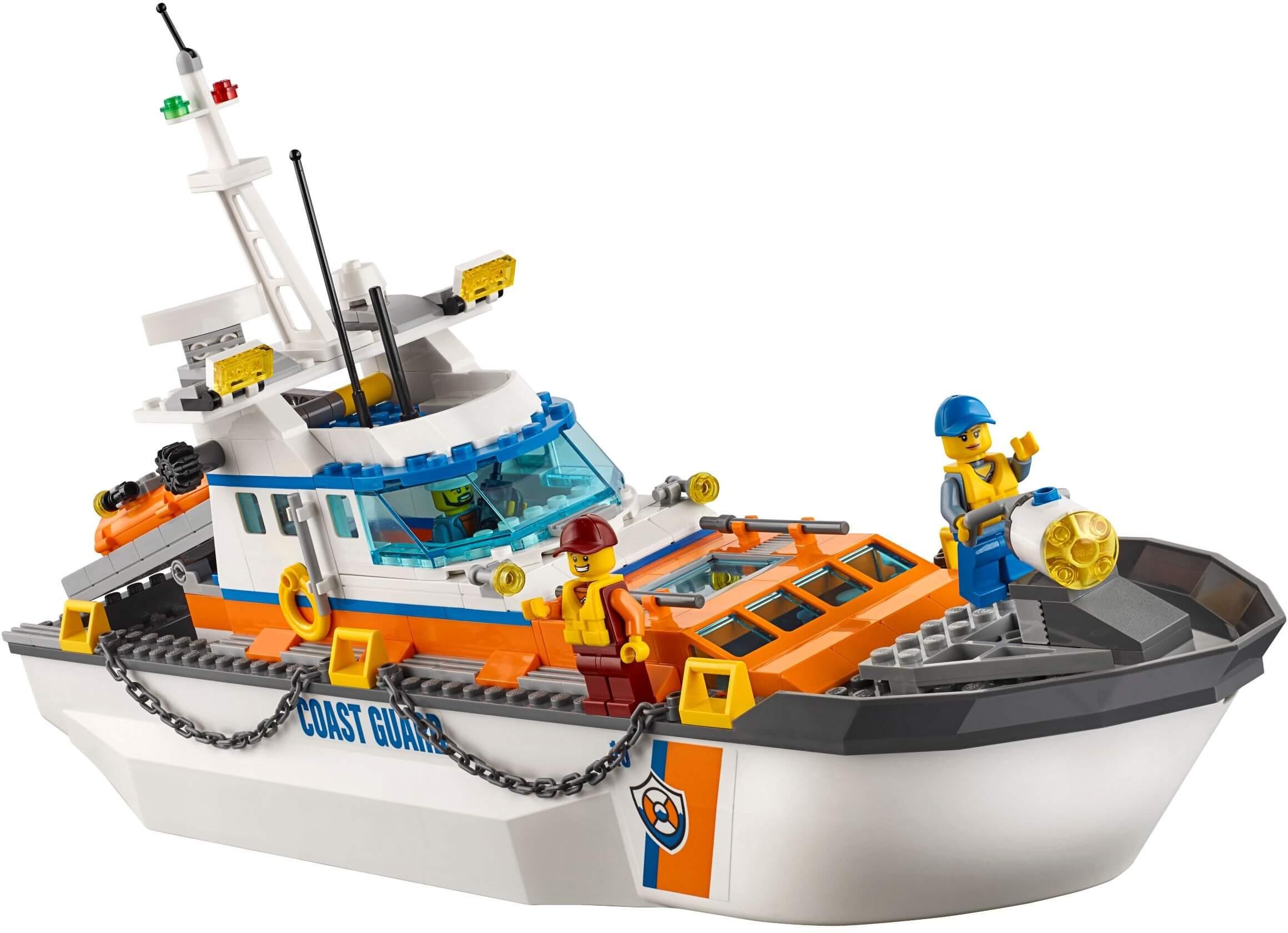 Mua đồ chơi LEGO 60167 - LEGO City 60167 - Sở Chỉ Huy bảo vệ Bờ Biển (LEGO City Coast Guard Head Quarters)