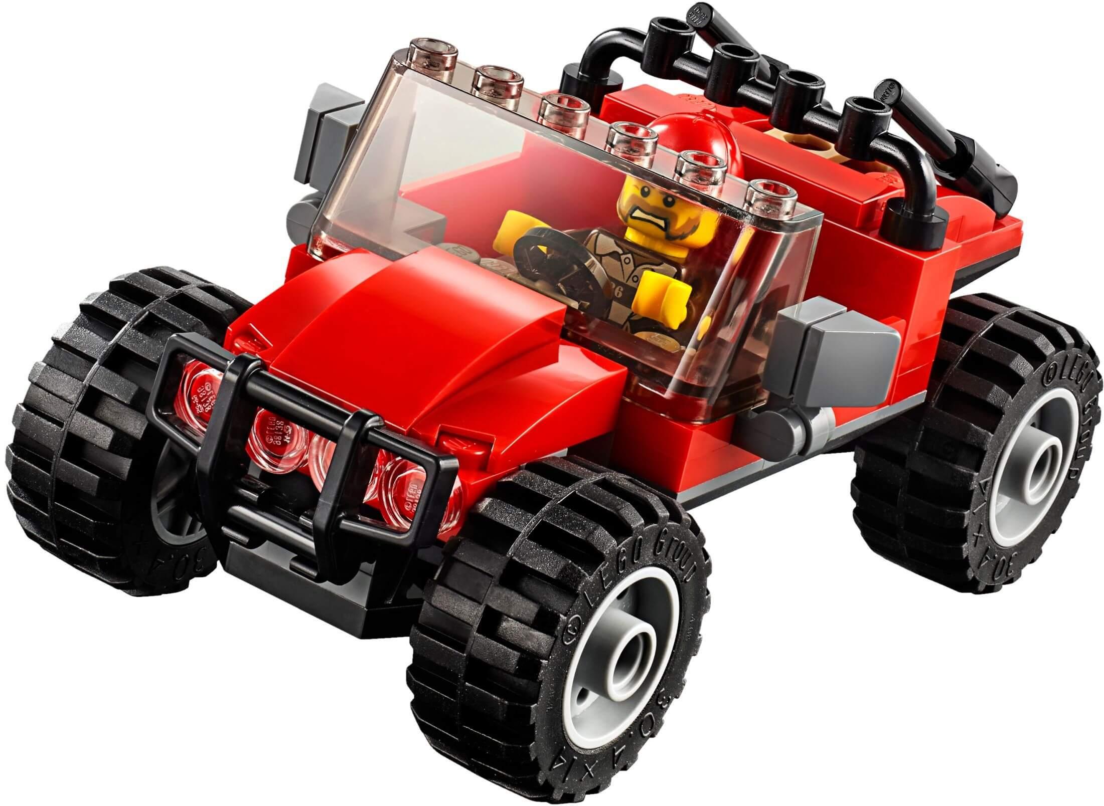 Mua đồ chơi LEGO 60172 - LEGO City 60172 - Xe Tải Bắn Lưới của Cảnh Sát (LEGO City 60172 Dirt Road Pursuit)
