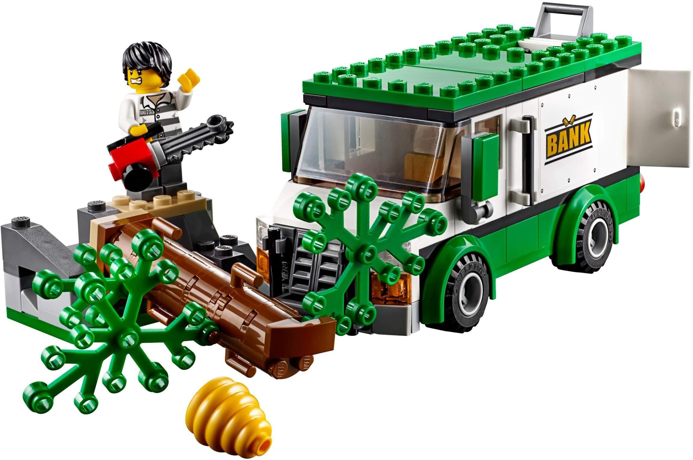 Mua đồ chơi LEGO 60175 - LEGO City 60175 - Thủy Phi Cơ Cảnh Sát bắt Cướp (LEGO City 60175 Mountain River Heist)