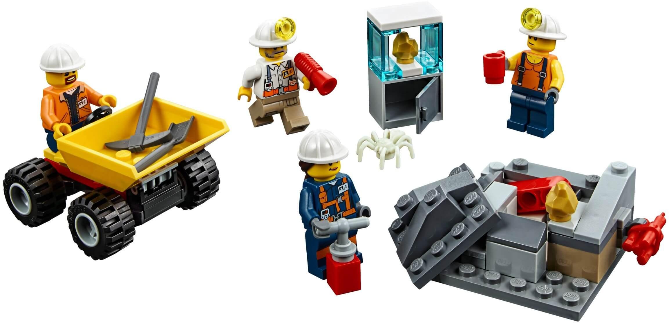 Mua đồ chơi LEGO 60184 - LEGO City 60184 - Đội Đào Mỏ Chuyên Nghiệp (LEGO City 60184 Mining Team)