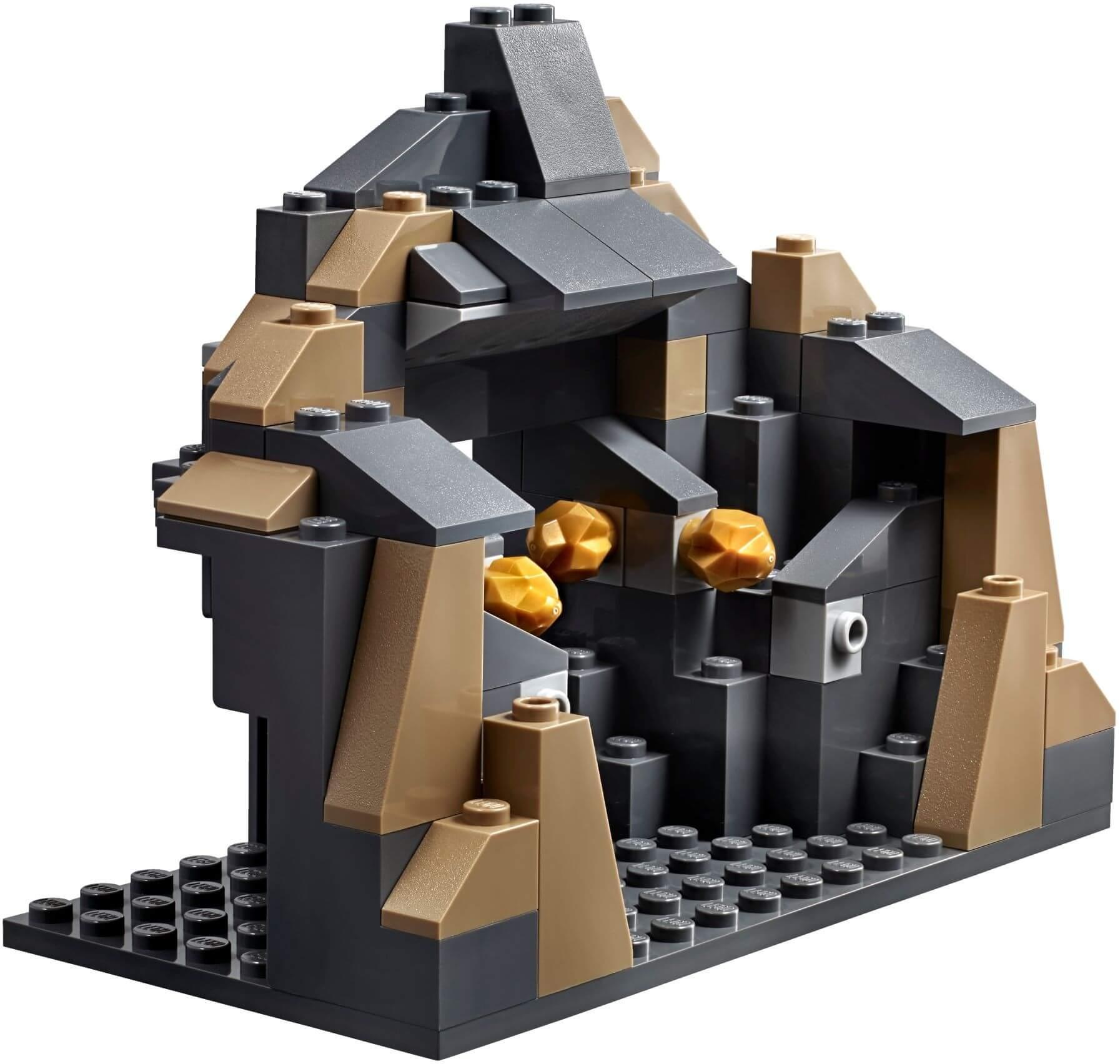 Mua đồ chơi LEGO 60186 - LEGO City 60186 - Máy đào Hầm khổng lồ (LEGO City 60186 Mining Heavy Driller)