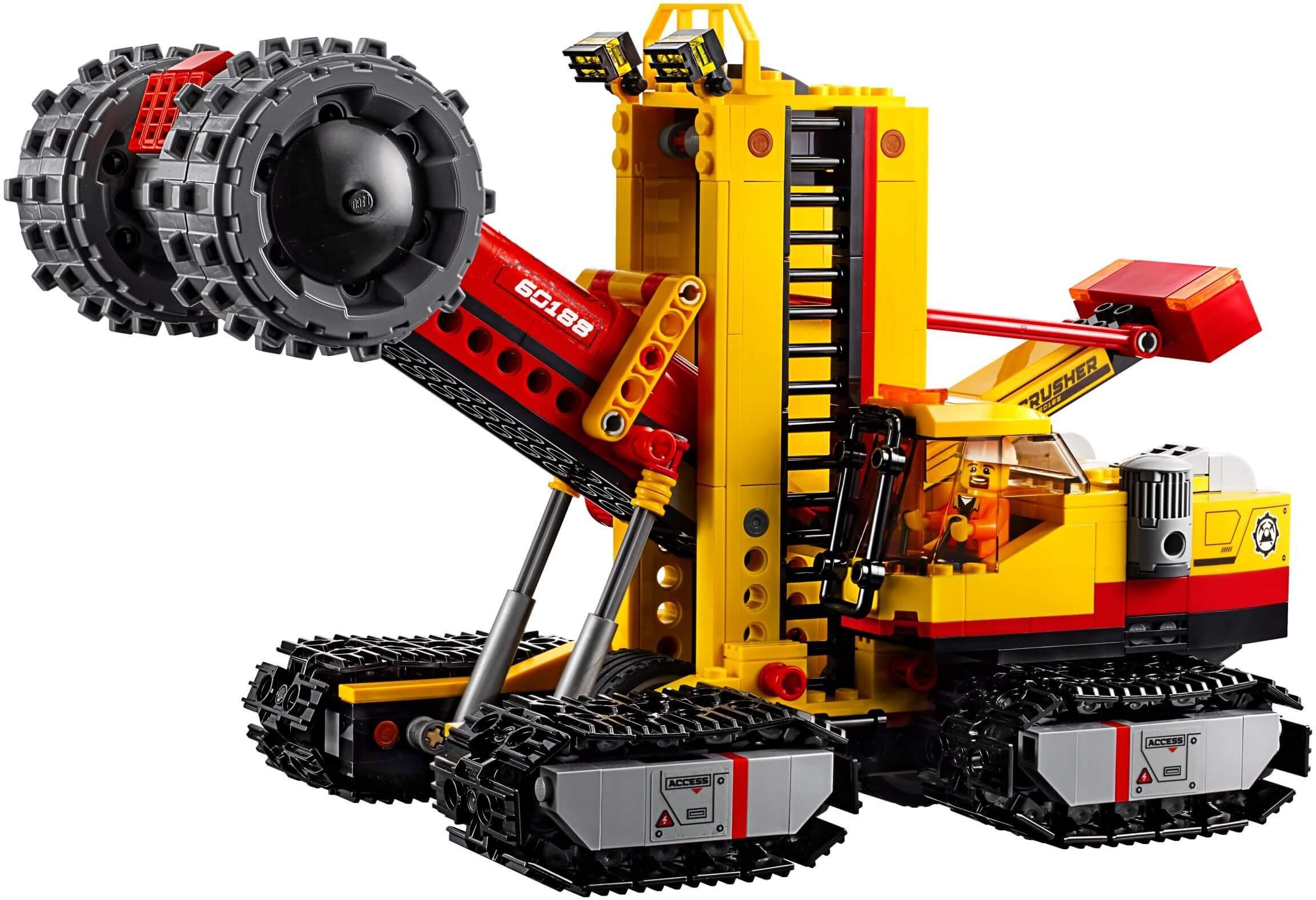 Mua đồ chơi LEGO 60188 - LEGO City 60188 - Đội Xe Đào Mỏ Chuyên Nghiệp (LEGO City 60188 Mining Experts Site)