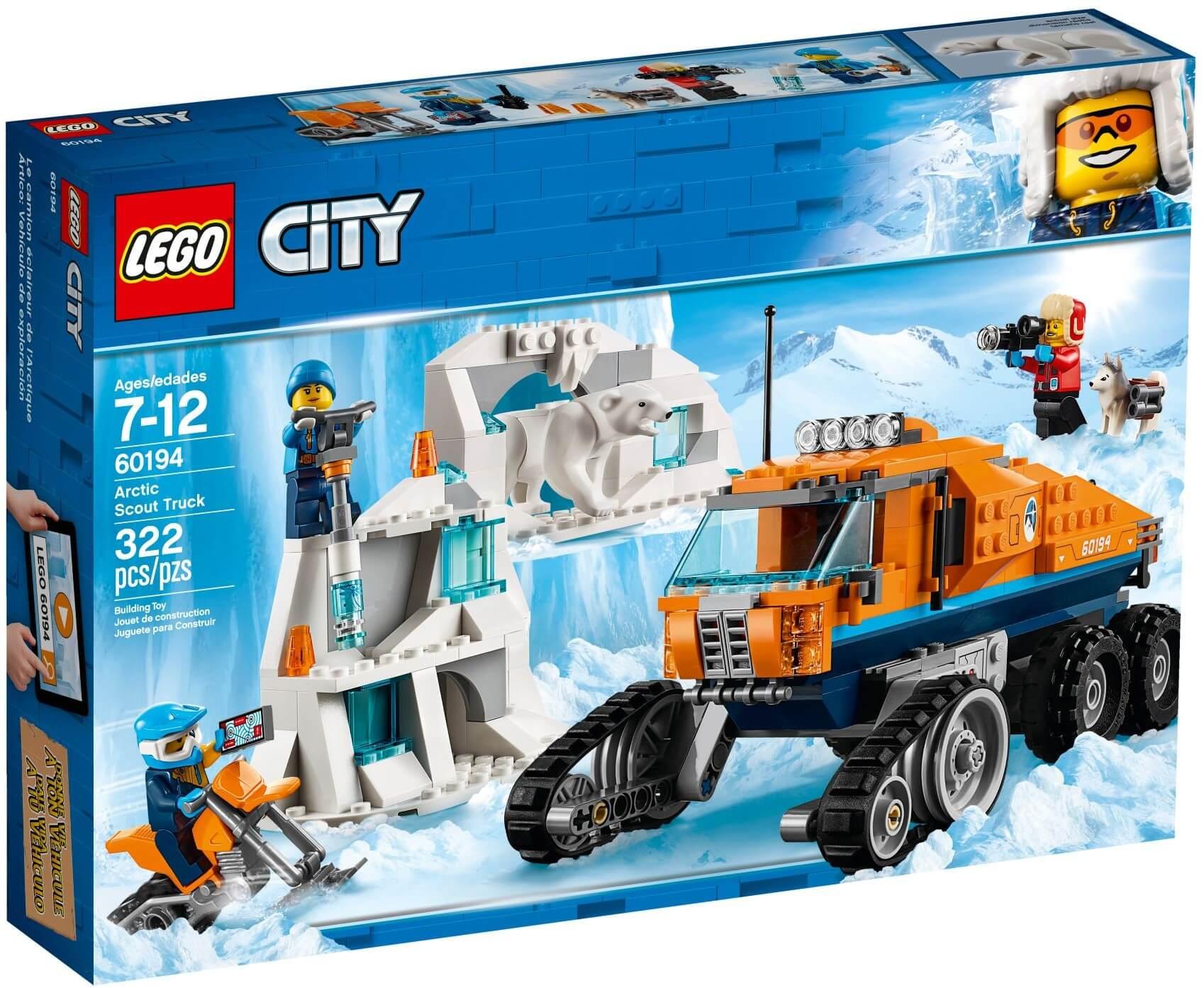 Mua đồ chơi LEGO 60194 - LEGO City 60194 - Xe Vượt Địa Hình Bắc Cực (LEGO 60194 Arctic Scout Truck)
