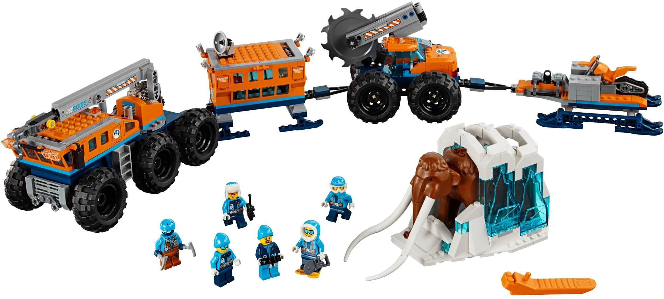 Mua đồ chơi LEGO 60195 - LEGO City 60195 - Đội Xe Thám Hiểm Bắc Cực (LEGO 60195 Arctic Mobile Exploration Base)
