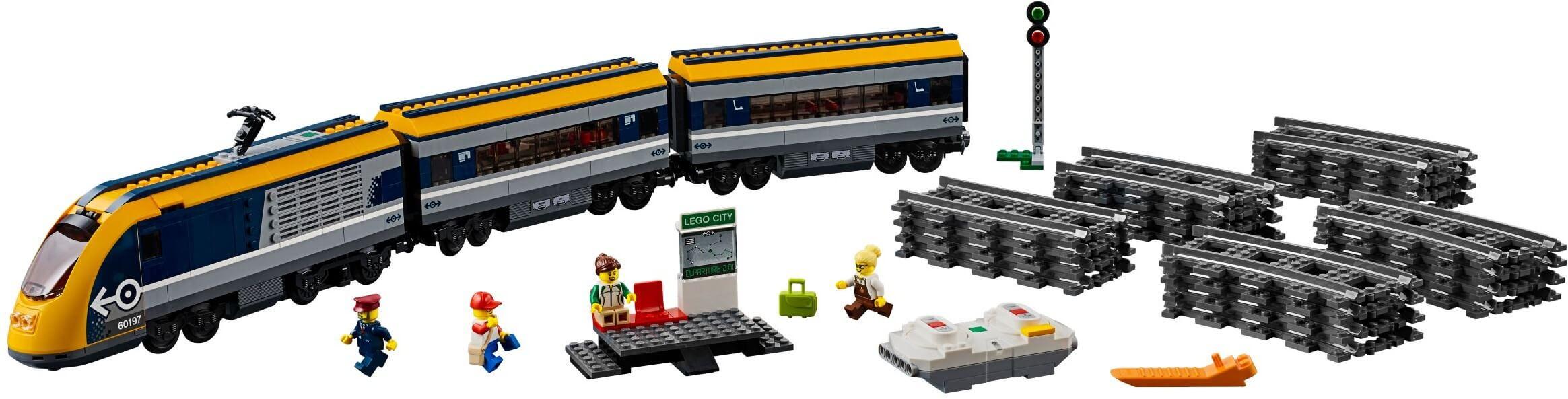 Mua đồ chơi LEGO 60197 - LEGO City 60197 - Xe Lửa chở khách Điều Khiển Từ Xa (LEGO City 60197 Passenger Train)