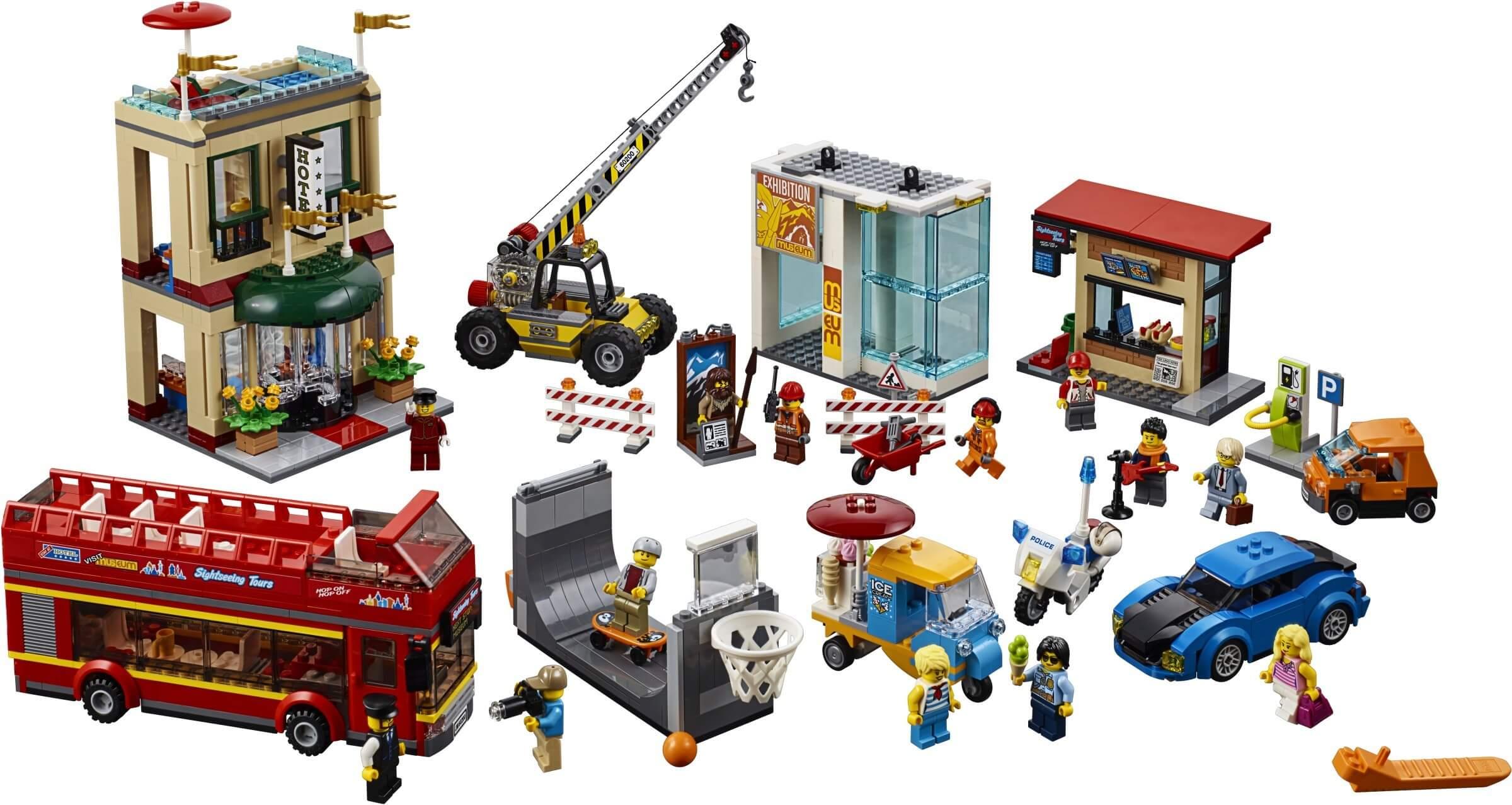 Mua đồ chơi LEGO 60200 - LEGO City 60200 - Trung Tâm Thành Phố Lớn (LEGO 60200 Capital City)