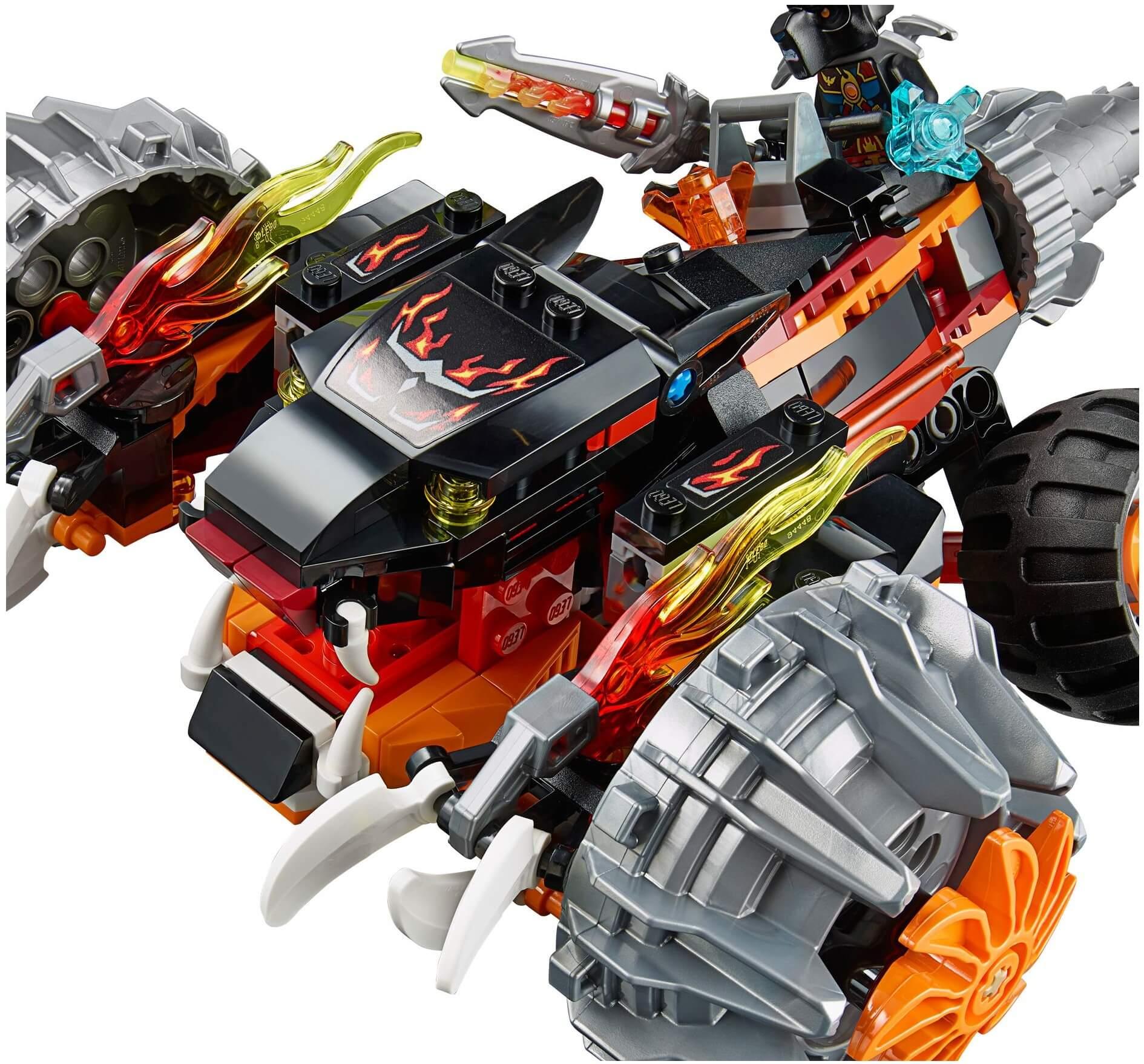 Mua đồ chơi LEGO 70222 - LEGO Chima 70222 - Siêu Xe Hỏa Tiễn Bóng Đêm (LEGO Chima Tormak Shadow Blazer 70222)