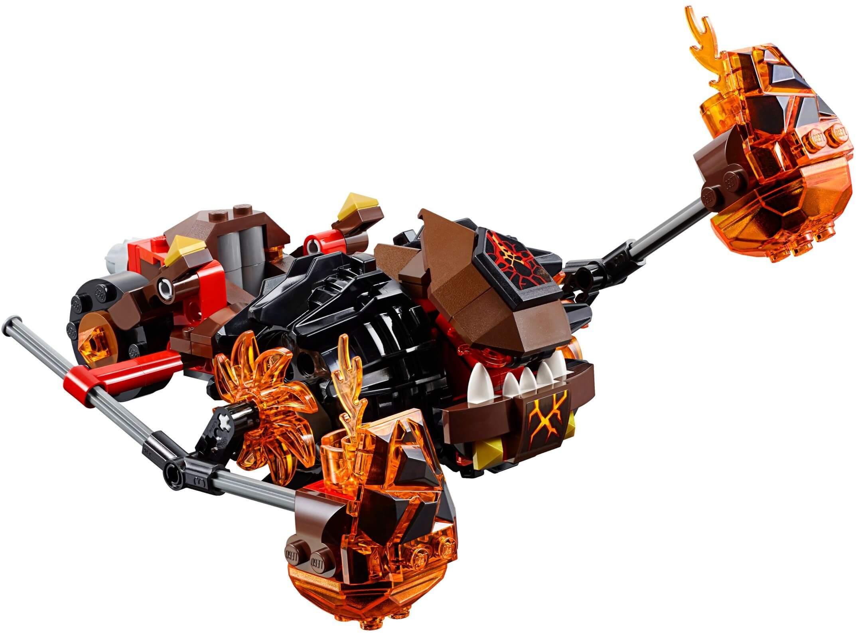 Mua đồ chơi LEGO 70313 - LEGO Nexo Knights 70313 - Cỗ xe Đập phá của Moltor (LEGO Nexo Knights Moltor's Lava Smasher 70313)