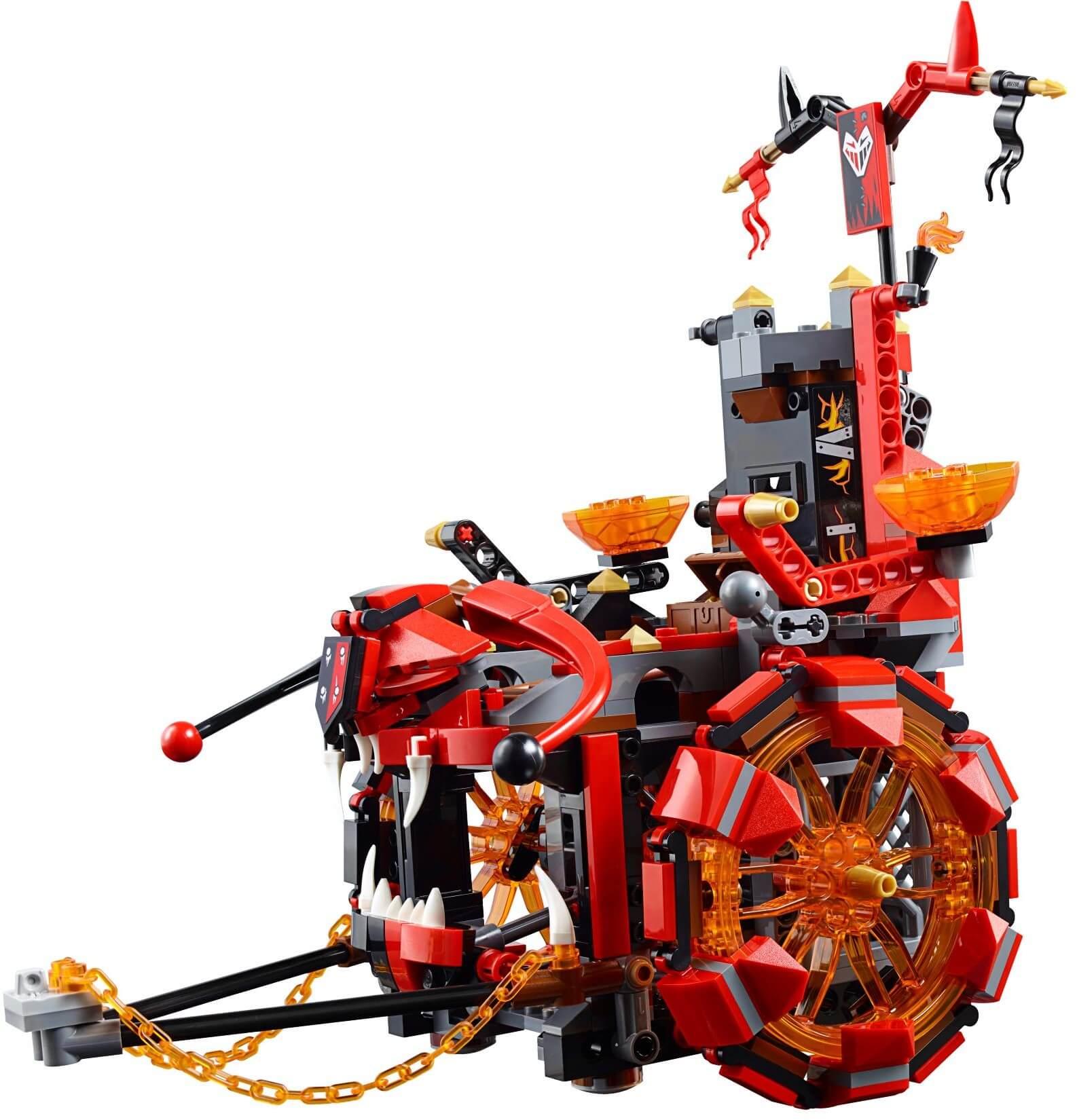 Mua đồ chơi LEGO 70316 - LEGO Nexo Knights 70316 - Cỗ xe quỷ dữ của Jestro (LEGO Nexo Knights Jestro's Evil Mobile 70316)