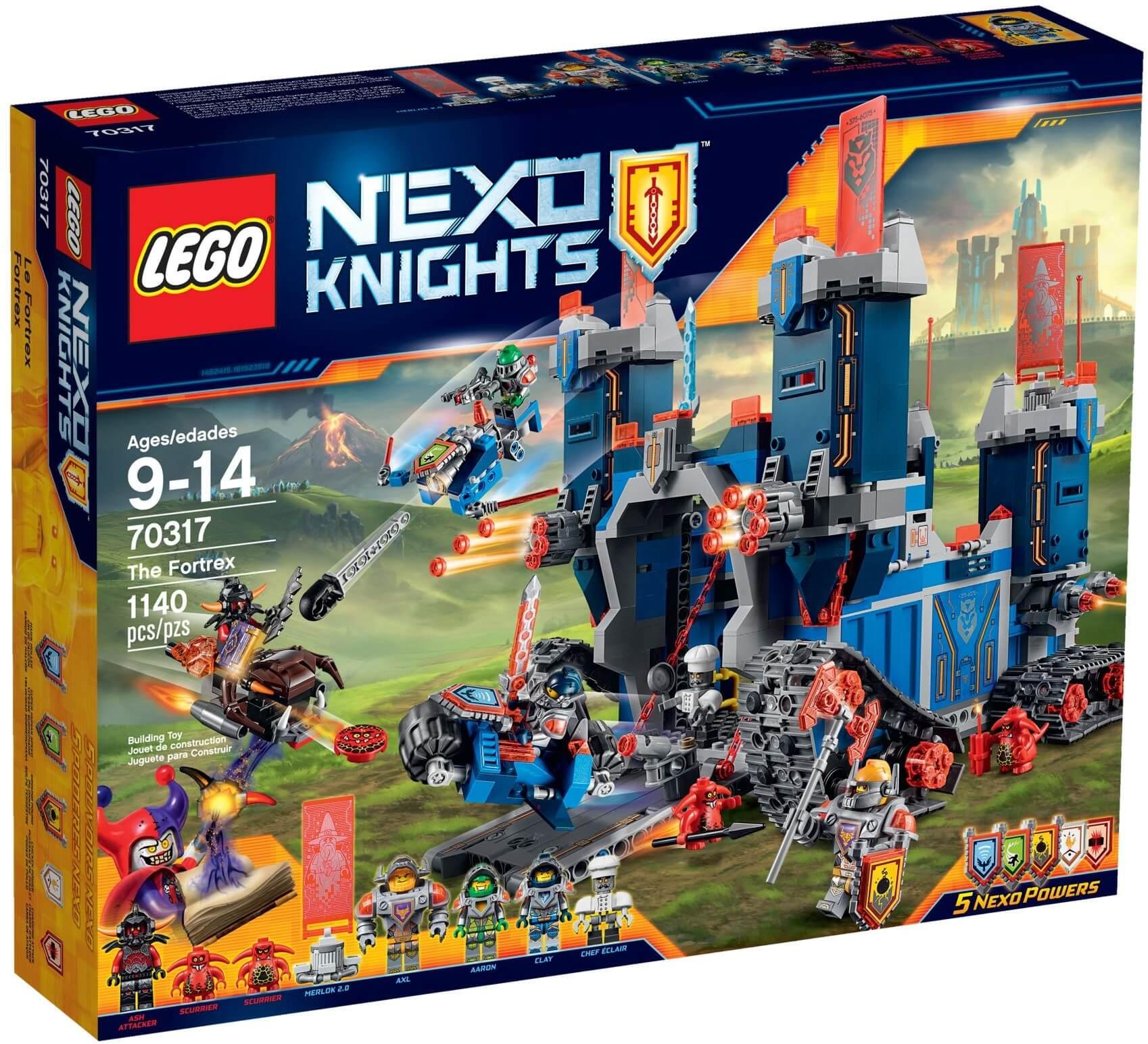 Mua đồ chơi LEGO 70317 - LEGO Nexo Knights 70317 - Pháo đài Hiệp Sĩ Di Động (LEGO Nexo Knights The Fortrex 70317)