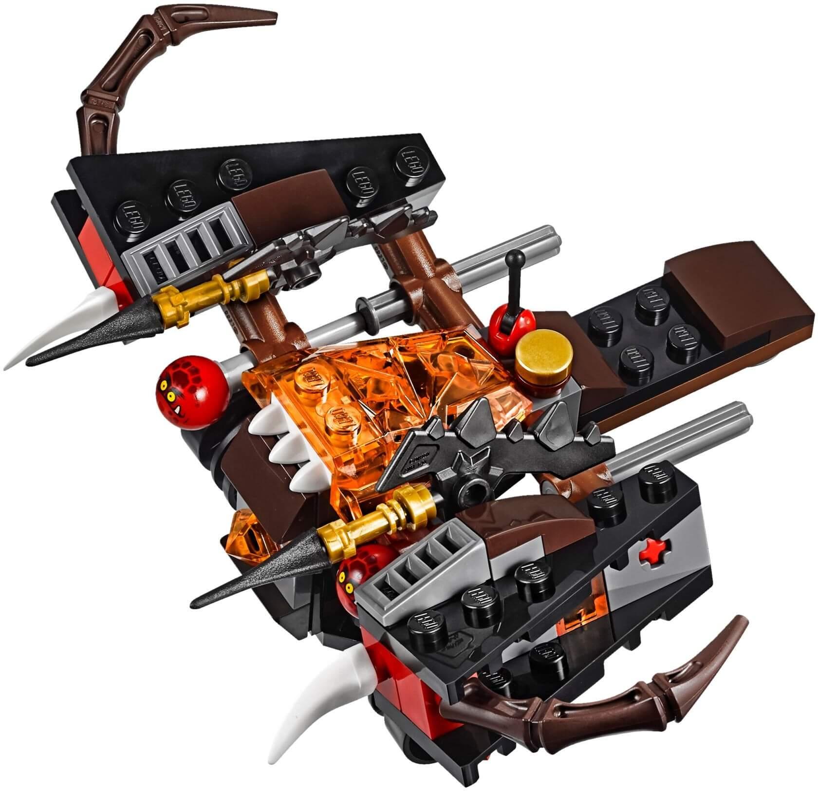 Mua đồ chơi LEGO 70318 - LEGO Nexo Knights 70318 - Máy Bắn Quái Vật Glob (LEGO Nexo Knights The Glob Lobber 70318)