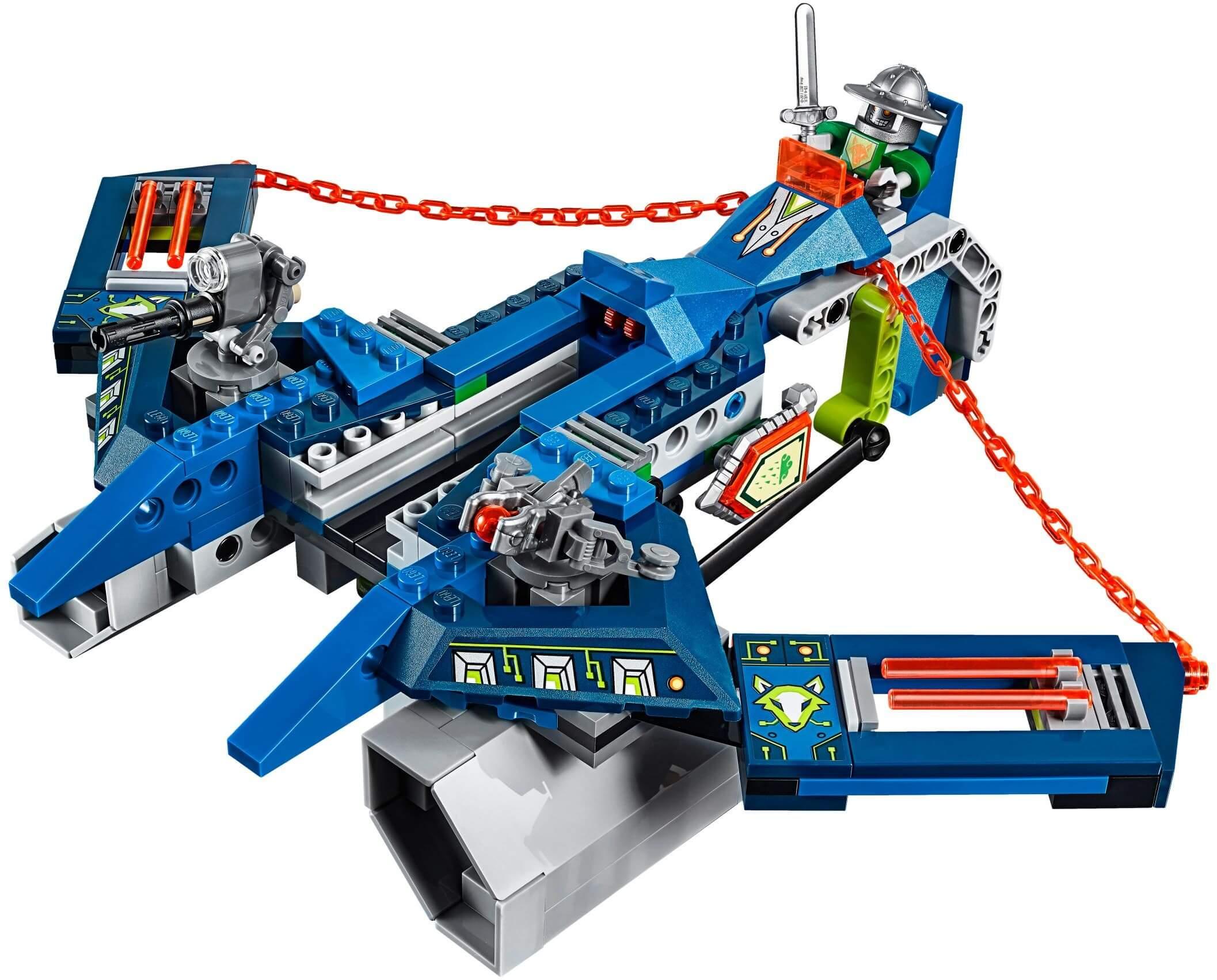 Mua đồ chơi LEGO 70320 - LEGO Nexo Knights 70320 - Siêu Máy Bay Hỏa Tiễn của Aaron (LEGO Nexo Knights Aaron Fox's Aero-Striker V2 70320)