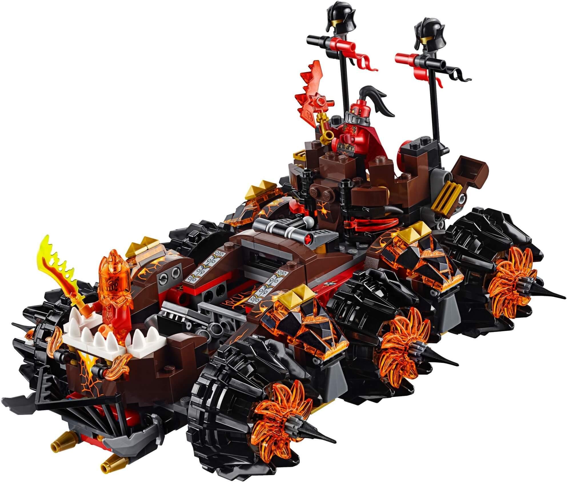 Mua đồ chơi LEGO 70321 - LEGO Nexo Knights 70321 - Cỗ Xe Biến Hình Tháp Canh của Tướng Magmar (LEGO Nexo Knights General Magmar's Siege Machine of Doom 70321)