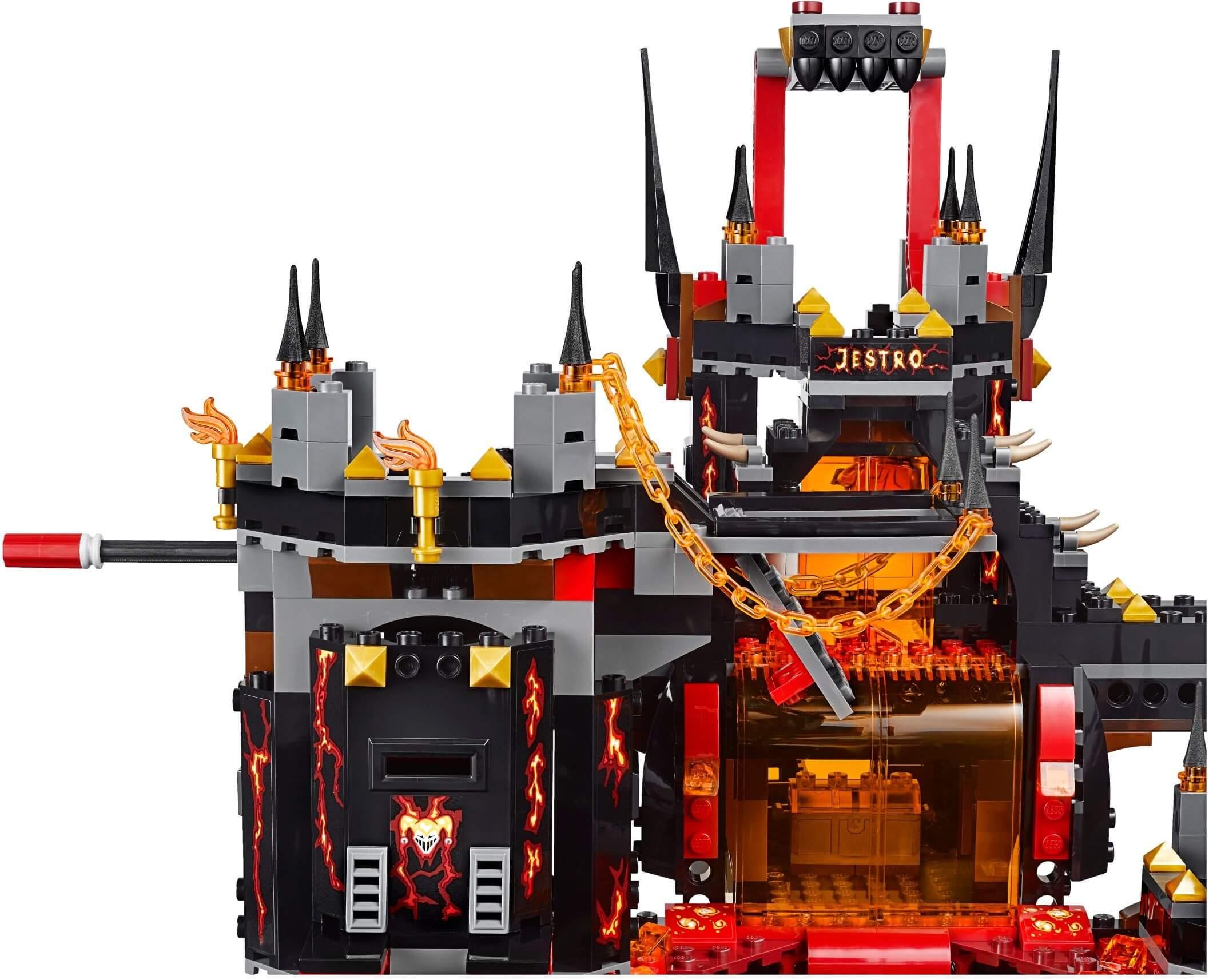 Mua đồ chơi LEGO 70323 - LEGO Nexo Knights 70323 - Pháo Đài Nham Thạch của Jestro (LEGO Nexo Knights Jestro's Volcano Lair 70323)