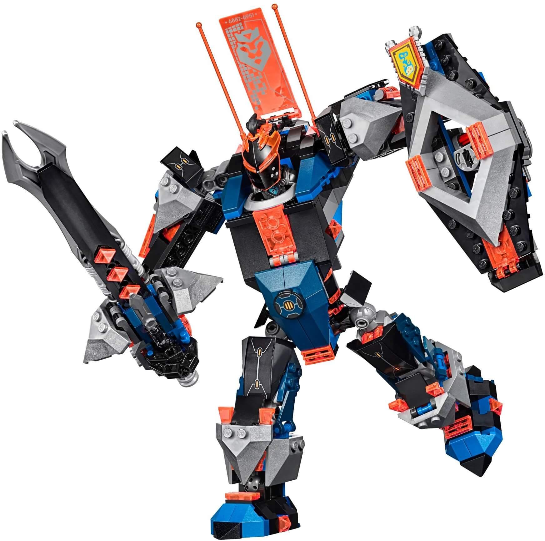 Mua đồ chơi LEGO 70326 - LEGO Nexo Knights 70326 - Hiệp Sĩ Máy Khổng Lồ của Robin (LEGO Nexo Knights The Black Knight Mech 70326)