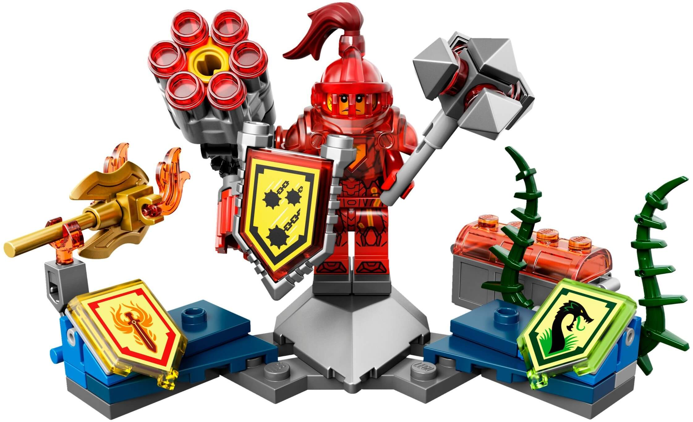 Mua đồ chơi LEGO 70331 - LEGO Nexo Knights 70331 - Hiệp sĩ Macy hùng mạnh (LEGO Nexo Knights Ultimate Macy 70331)