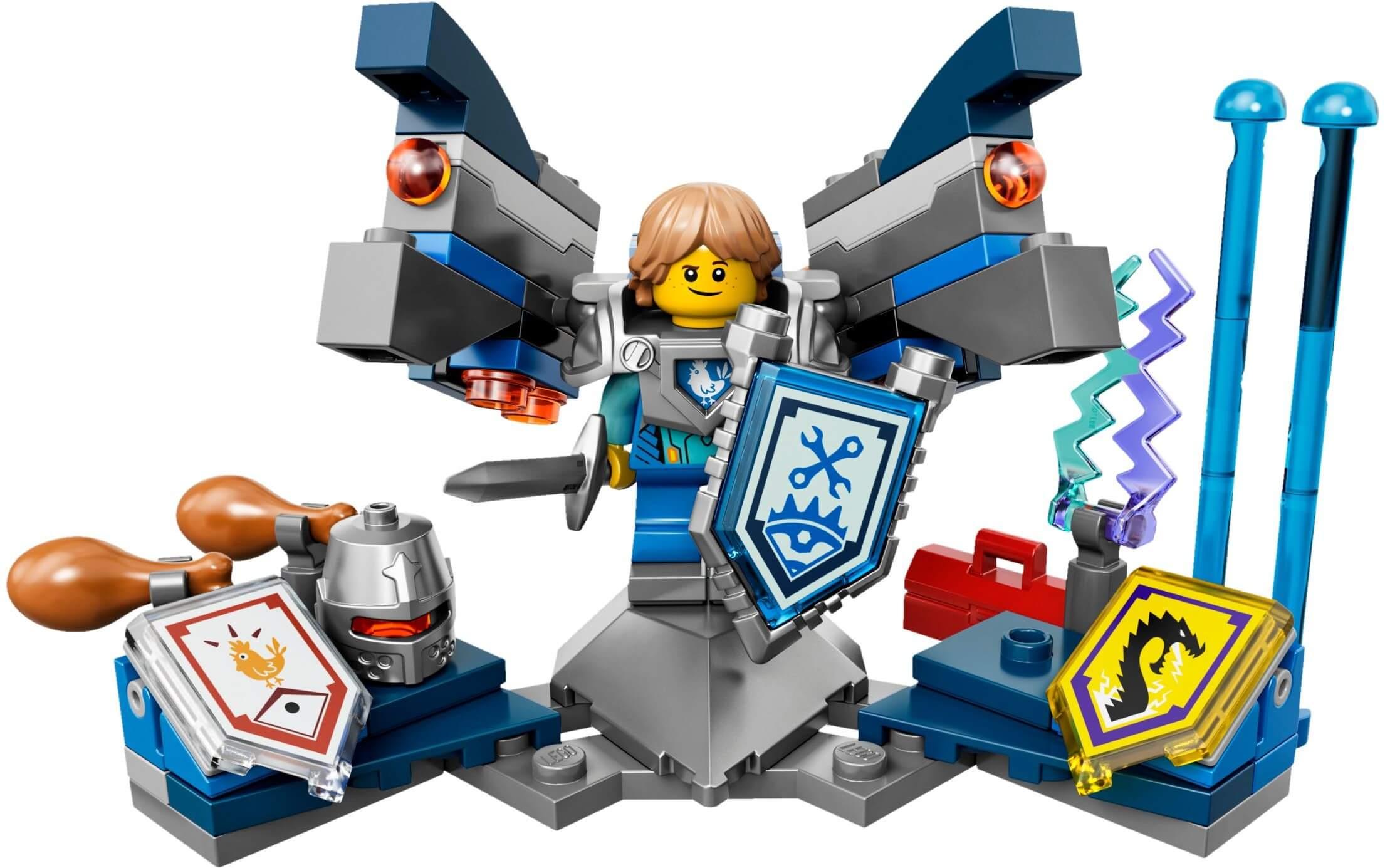 Mua đồ chơi LEGO 70333 - LEGO Nexo Knights 70333 - Hiệp sĩ Robin hùng mạnh (LEGO Nexo Knights Ultimate Robin 70333)