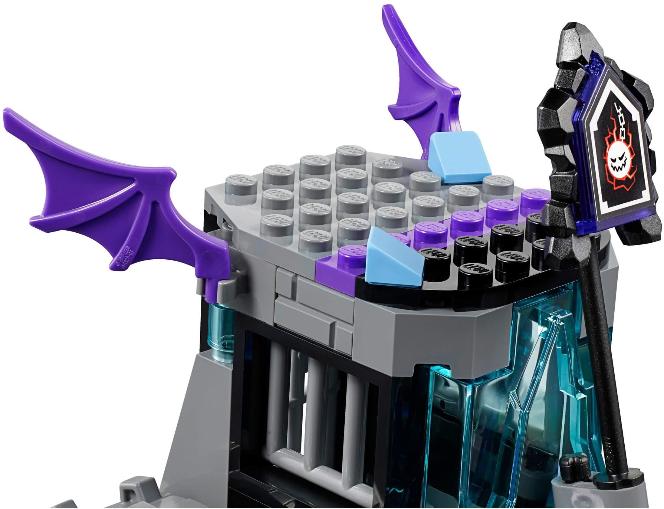 Mua đồ chơi LEGO 70349 - LEGO Nexo Knights 70349 - Cỗ Xe Quái Vật của Ruina (LEGO 70349 Ruina's Lock & Roller)