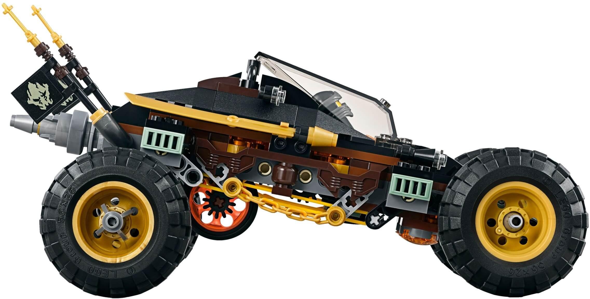 Mua đồ chơi LEGO 70589 - LEGO Ninjago 70589 - Siêu Xe Địa Hình của Cole RX (LEGO Ninjago Rock Roader 70589)