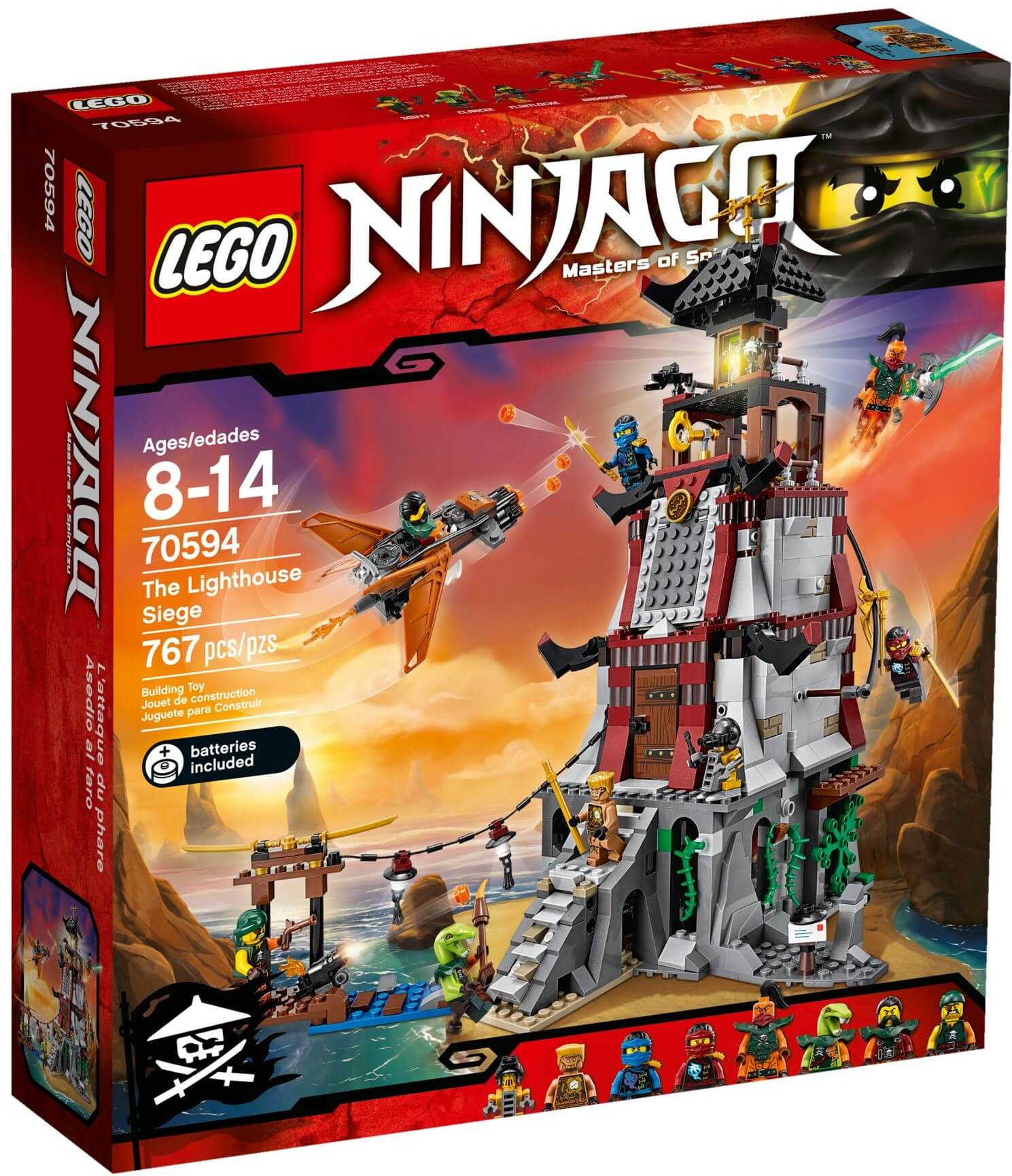Mua đồ chơi LEGO 70594 - LEGO Ninjago 70594 - Cuộc Chiến Ngọn Hải Đăng (LEGO Ninjago The Lighthouse Siege 70594)