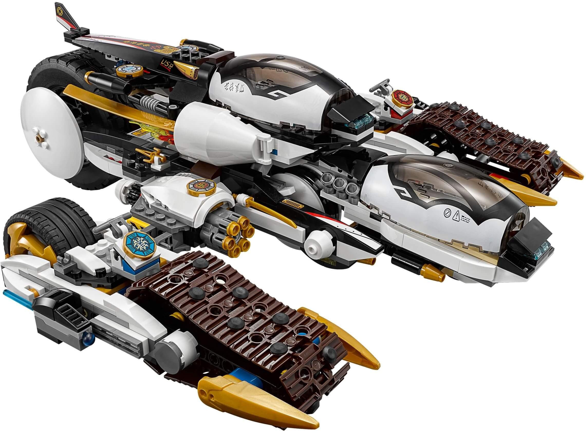 Mua đồ chơi LEGO 70595 - LEGO Ninjago 70595 - Chiến Xa Tàng Hình của các Ninja (LEGO Ninjago Ultra Stealth Raider 70595)